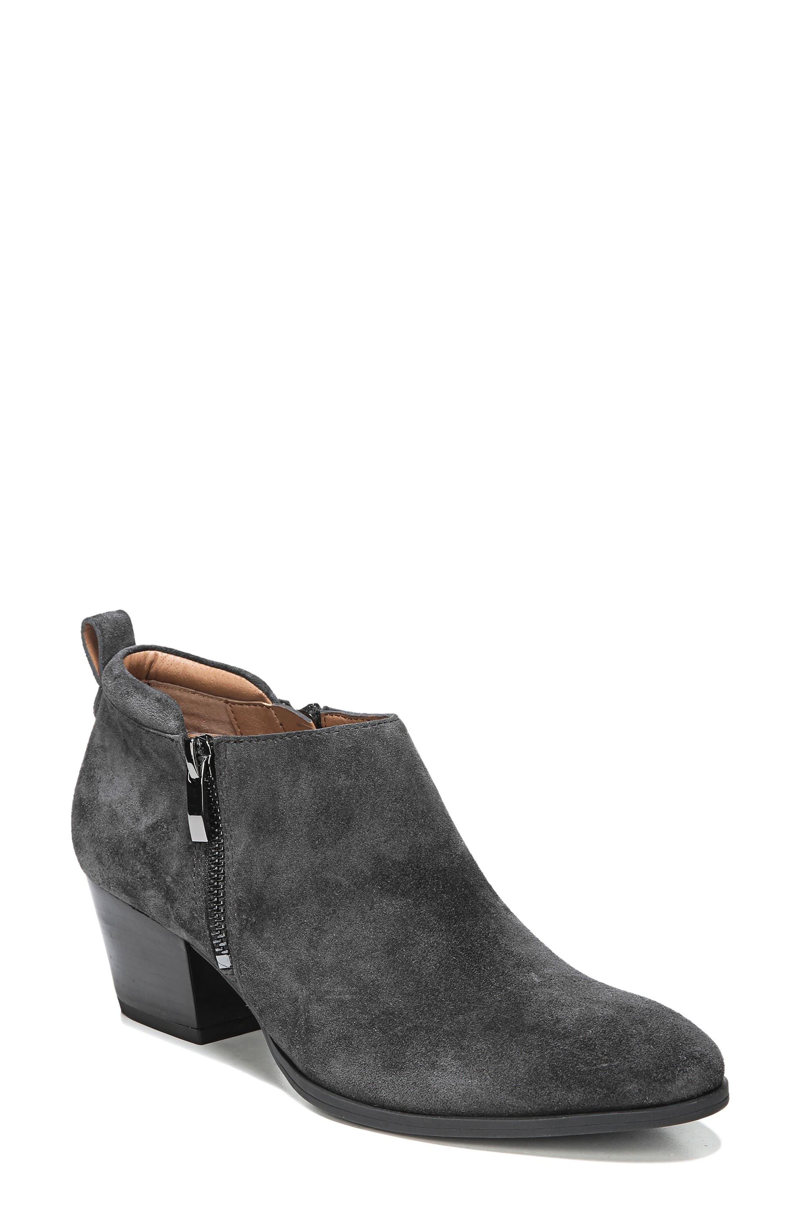 'Granite' Block Heel Bootie,                             Main thumbnail 3, color,