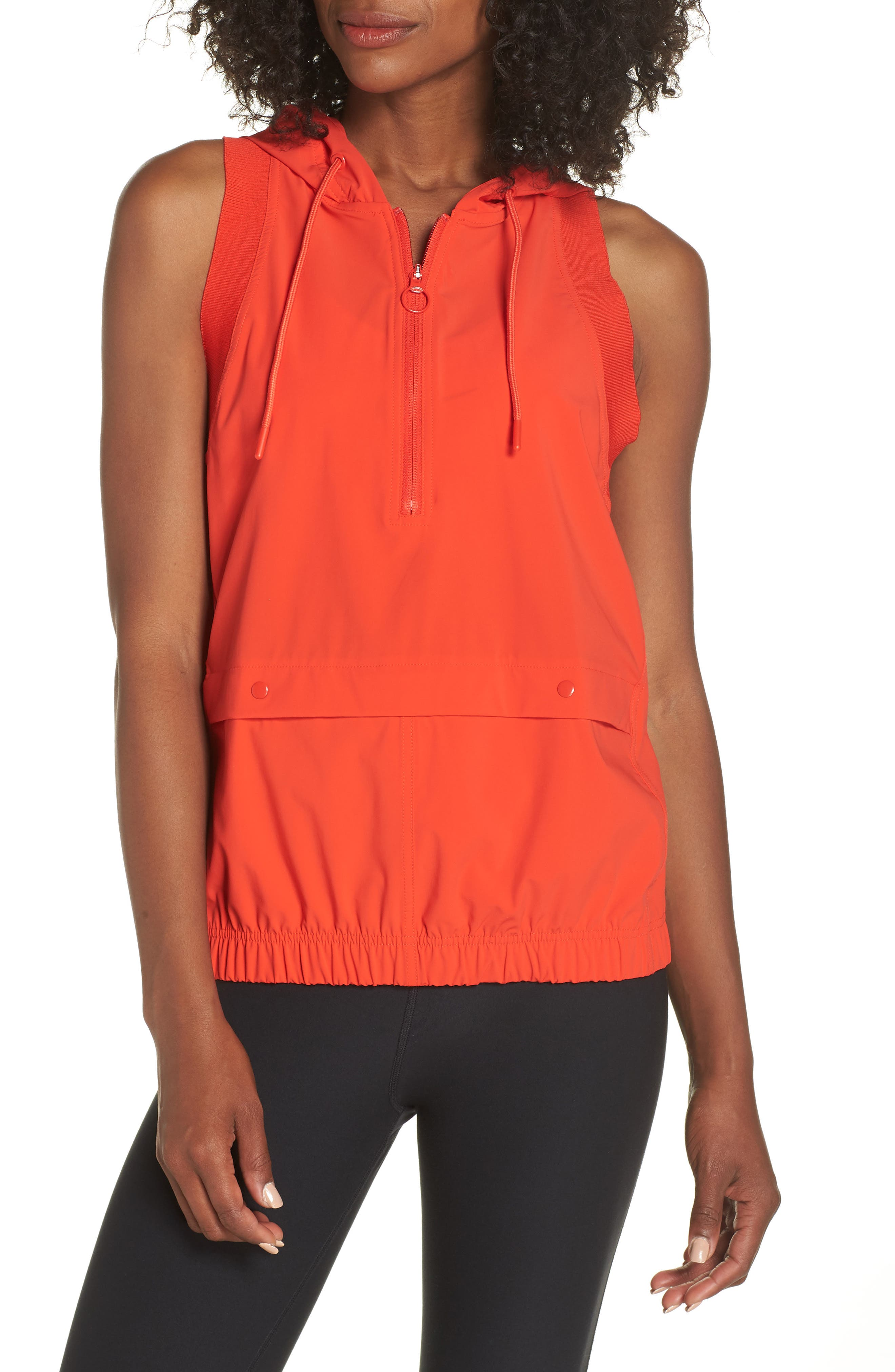 Training Hooded Gilet,                         Main,                         color, 600