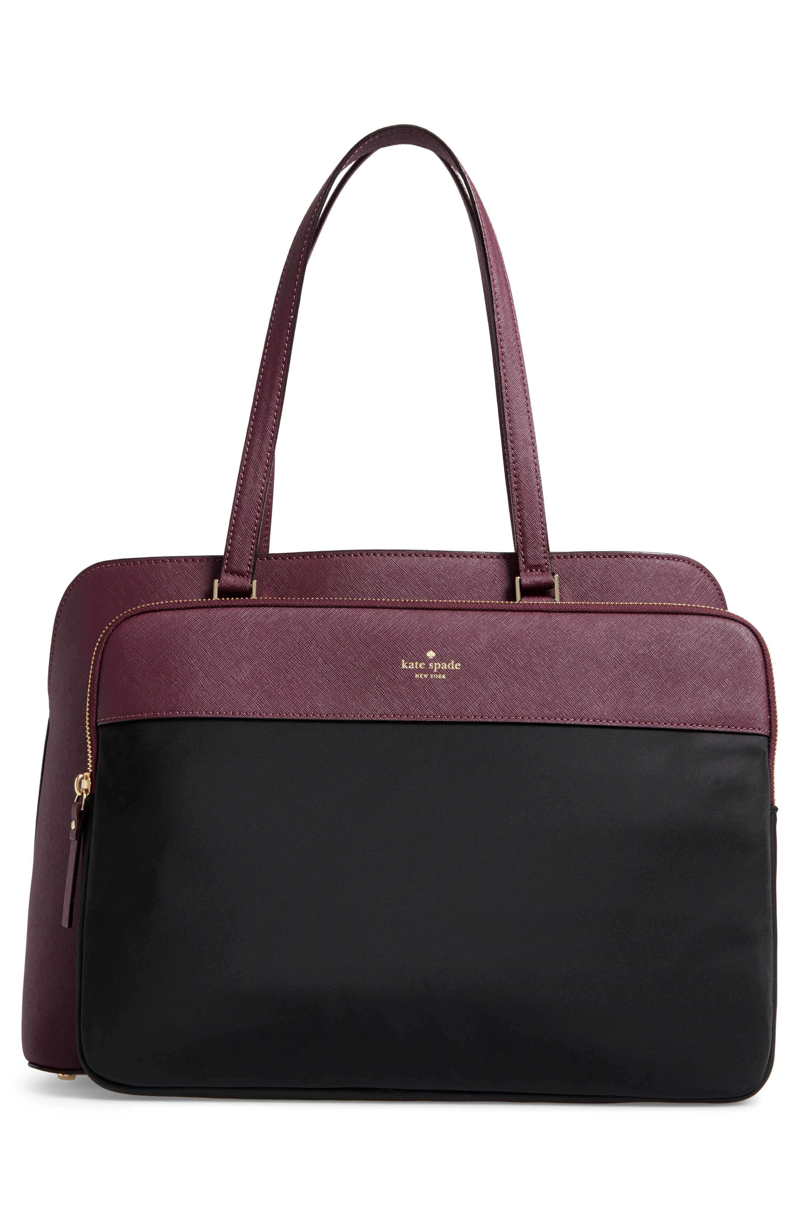 cameron street - marybeth leather tote,                             Alternate thumbnail 3, color,                             513