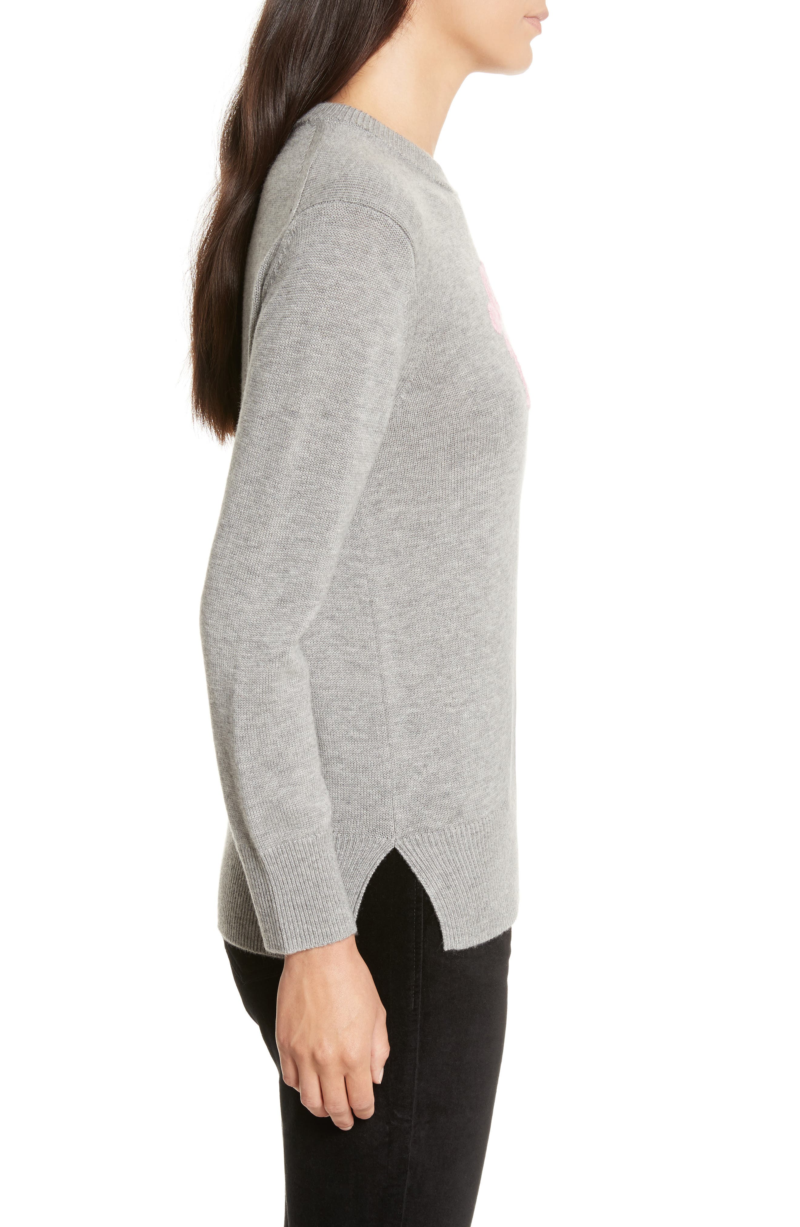 KATE SPADE NEW YORK,                             all dolled up sweater,                             Alternate thumbnail 3, color,                             082