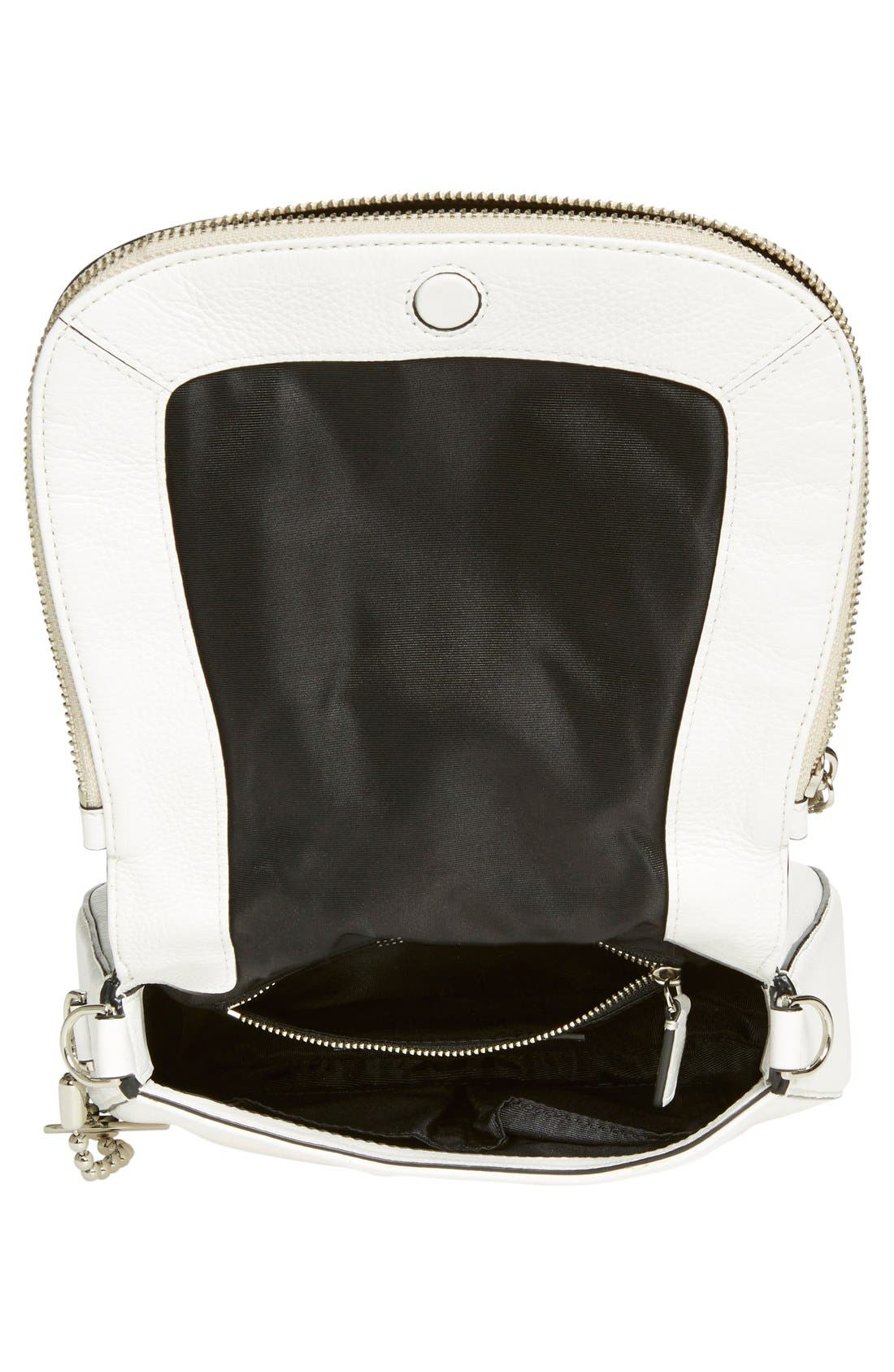 Small Recruit Nomad Pebbled Leather Crossbody Bag,                             Alternate thumbnail 56, color,