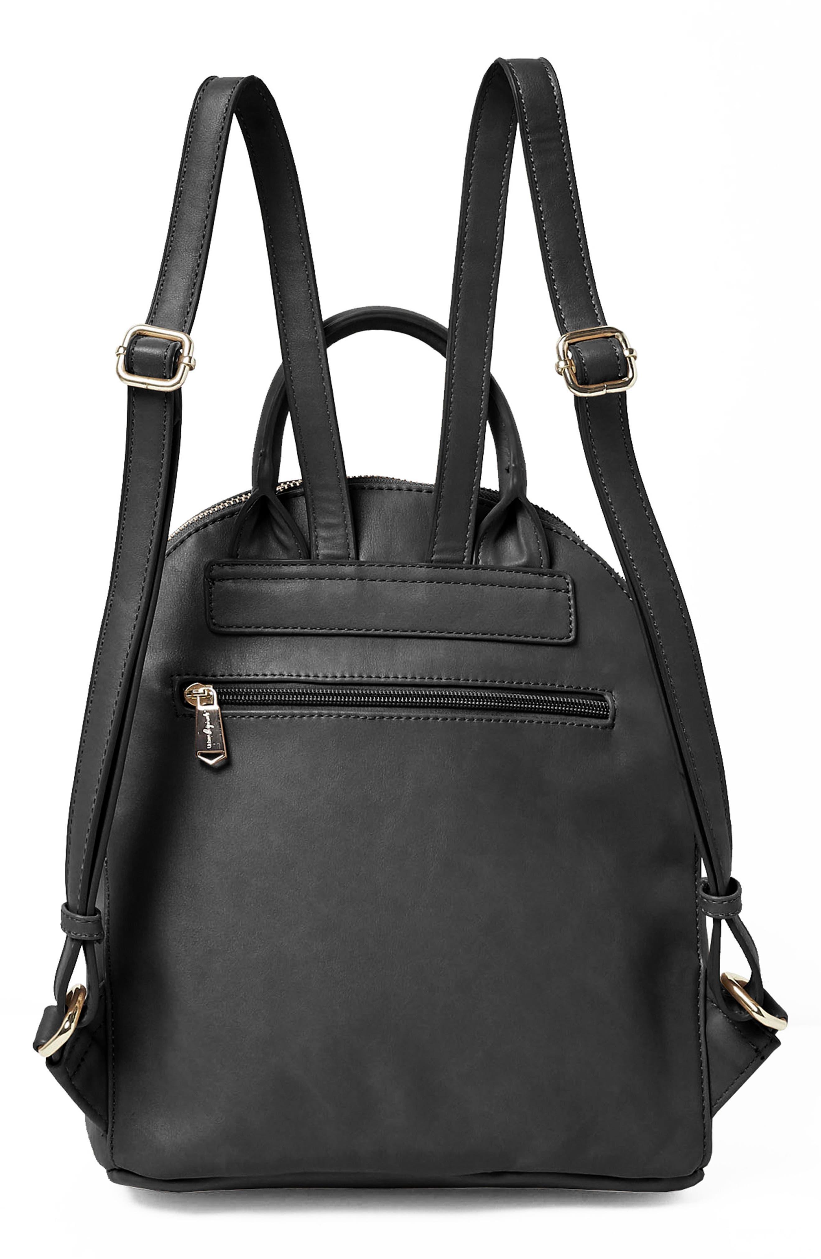 Celestial Vegan Leather Backpack,                             Alternate thumbnail 2, color,                             001