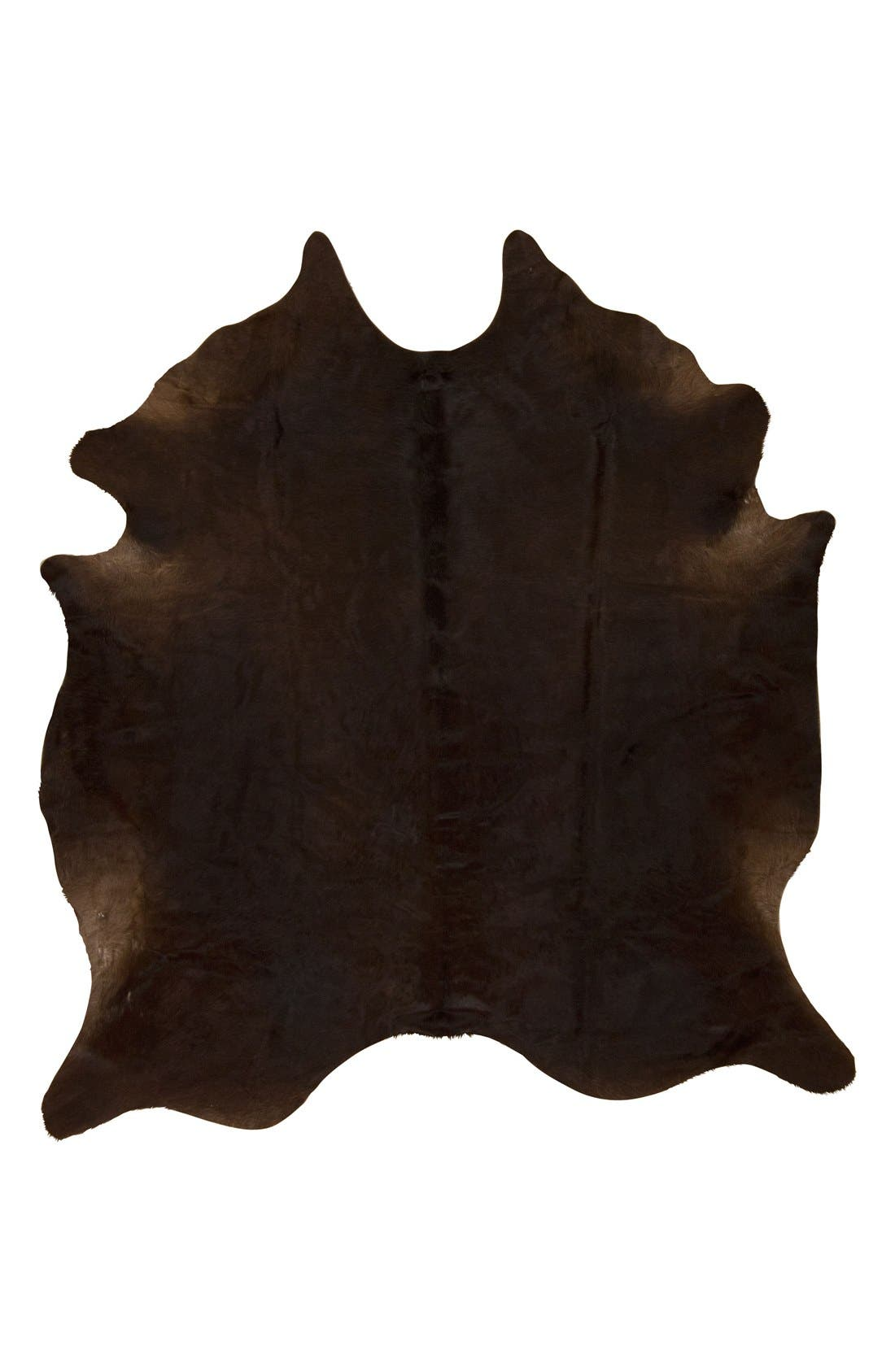 MINA VICTORY,                             Genuine Cowhide Rug,                             Main thumbnail 1, color,                             201