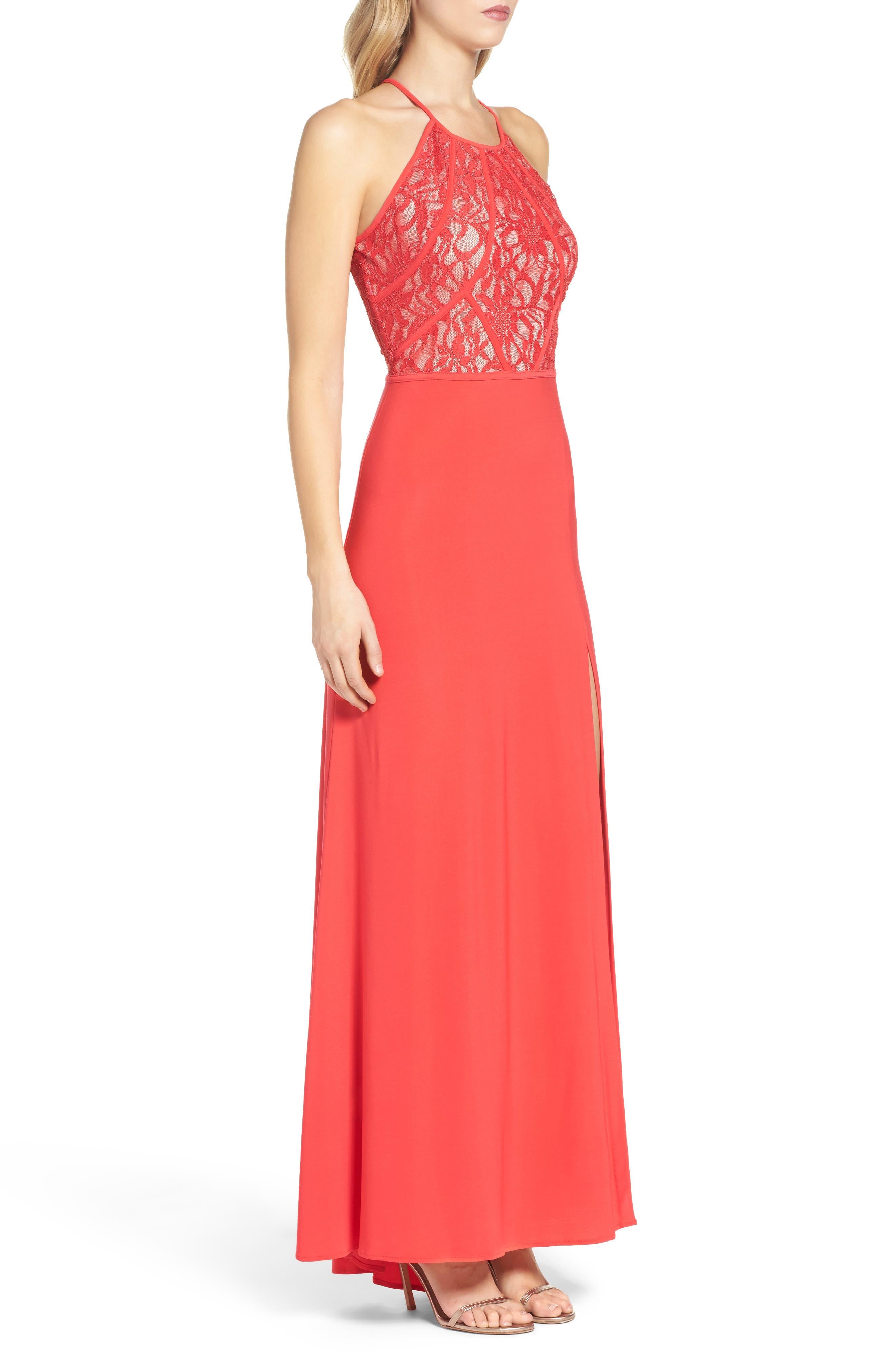 Lace Gown,                             Alternate thumbnail 3, color,