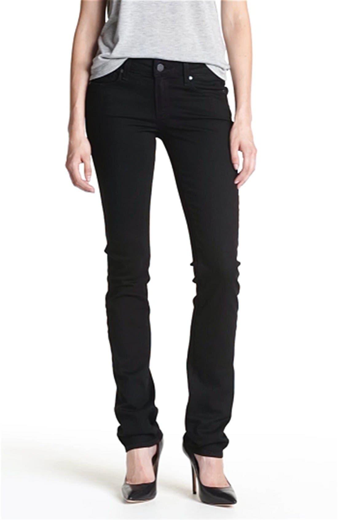 Denim 'Skyline' Straight Leg Stretch Jeans,                             Alternate thumbnail 2, color,                             001