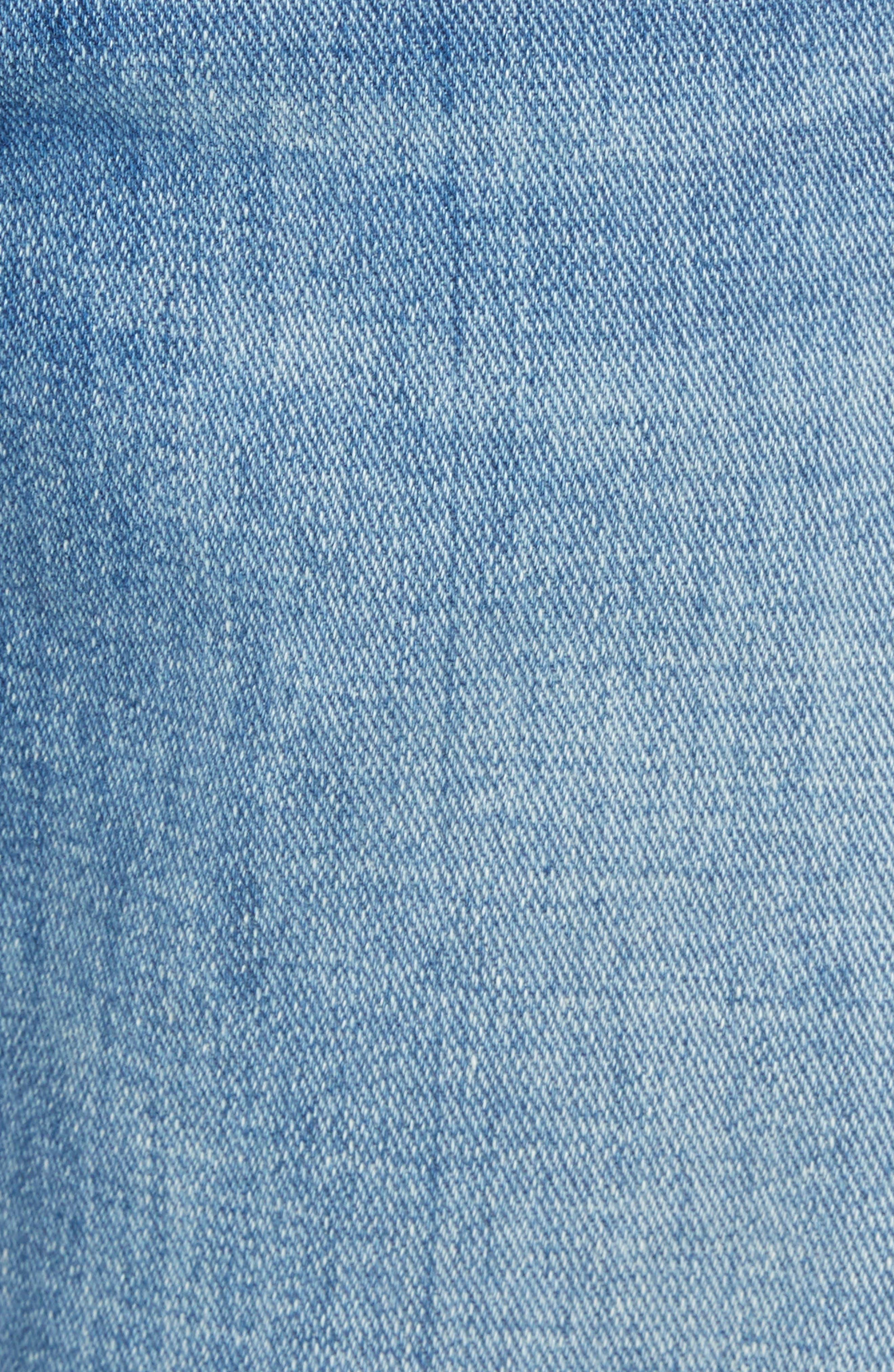 Slim Fit Jeans,                             Alternate thumbnail 5, color,                             DESTIN