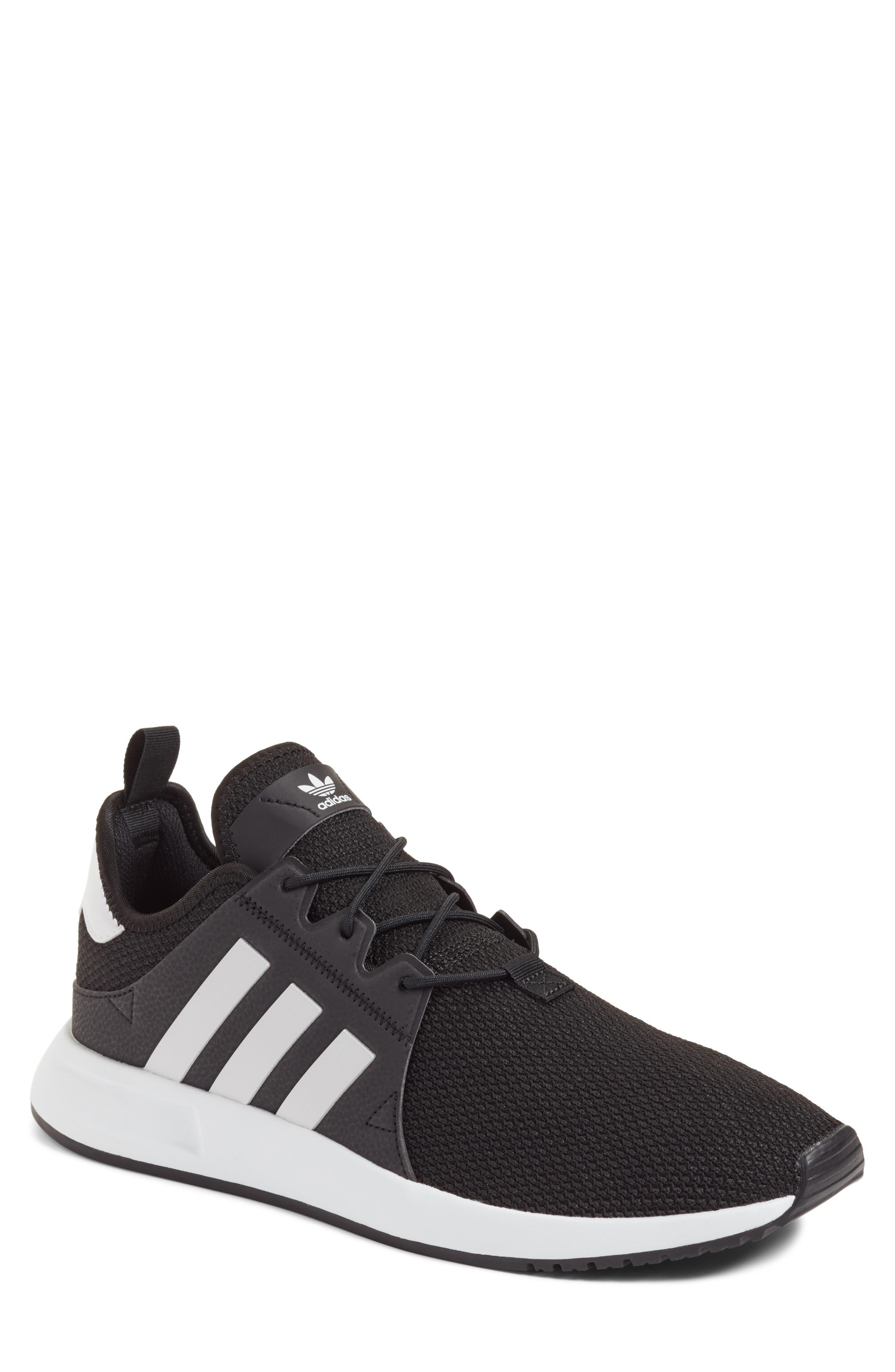 X_PLR Sneaker,                         Main,                         color, BLACK/ WHITE/ BLACK
