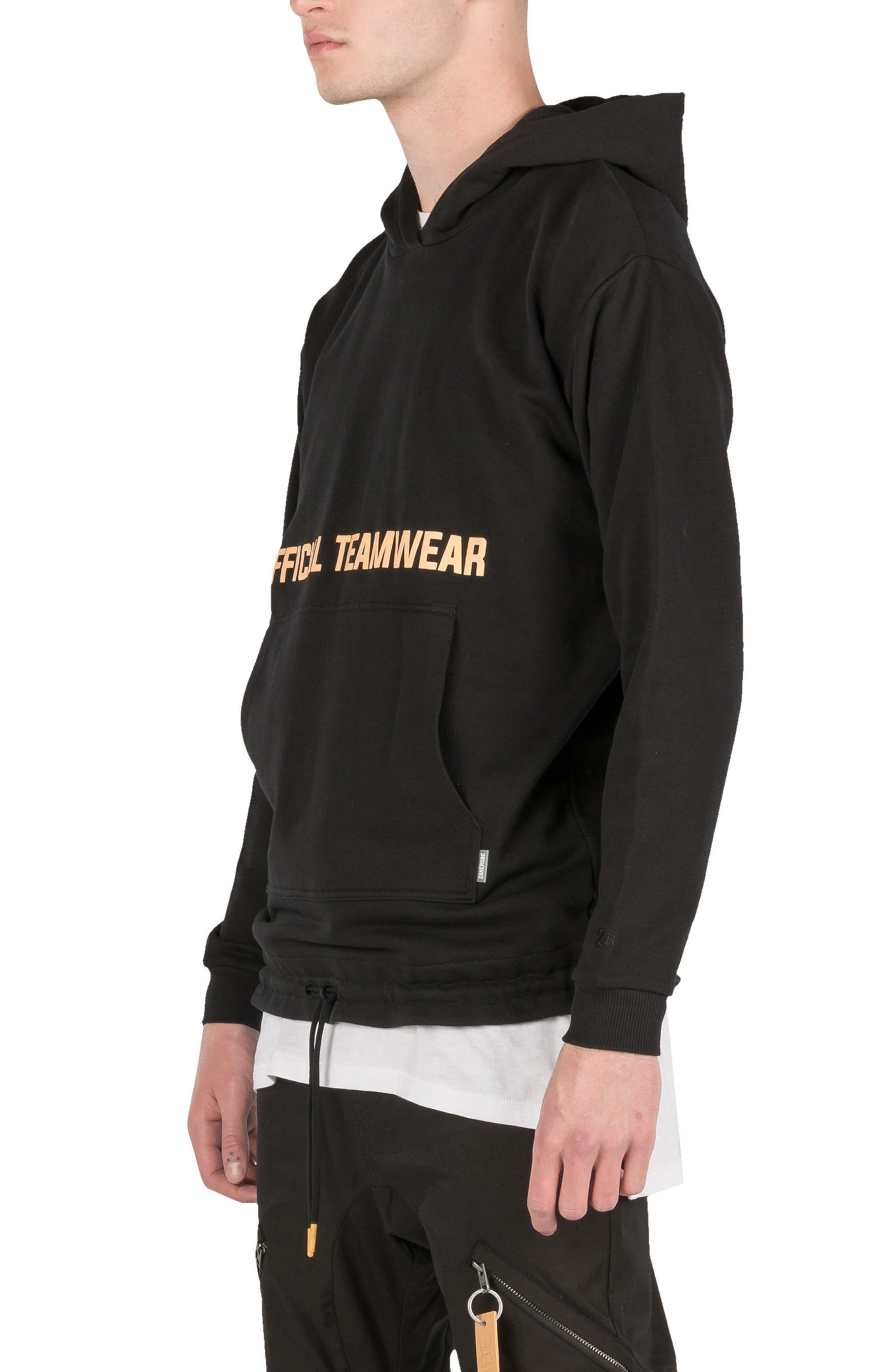 Teamwear Box Hoodie Sweatshirt,                             Alternate thumbnail 5, color,                             001