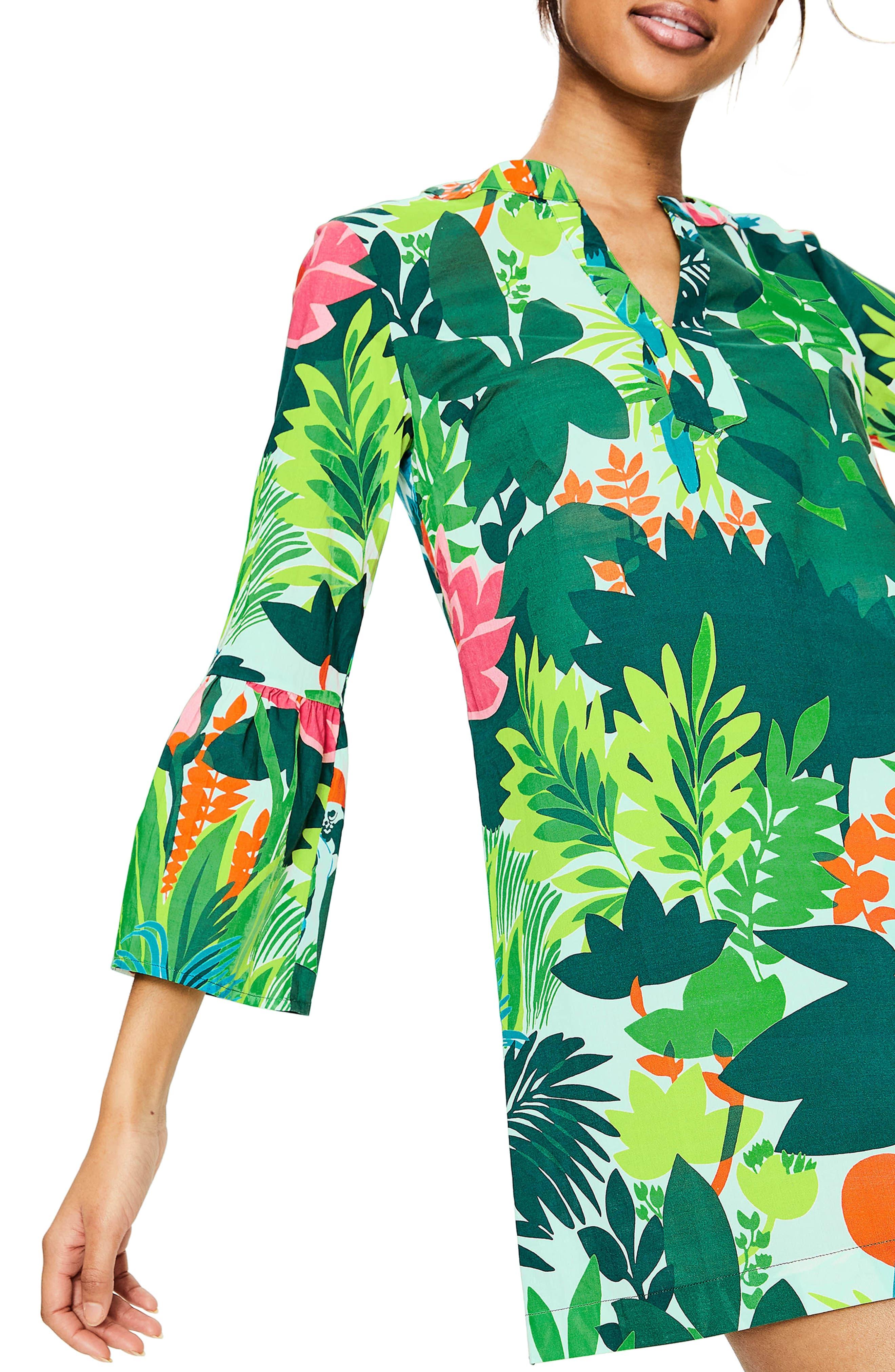 Jodie Caftan Dress,                             Alternate thumbnail 4, color,                             391