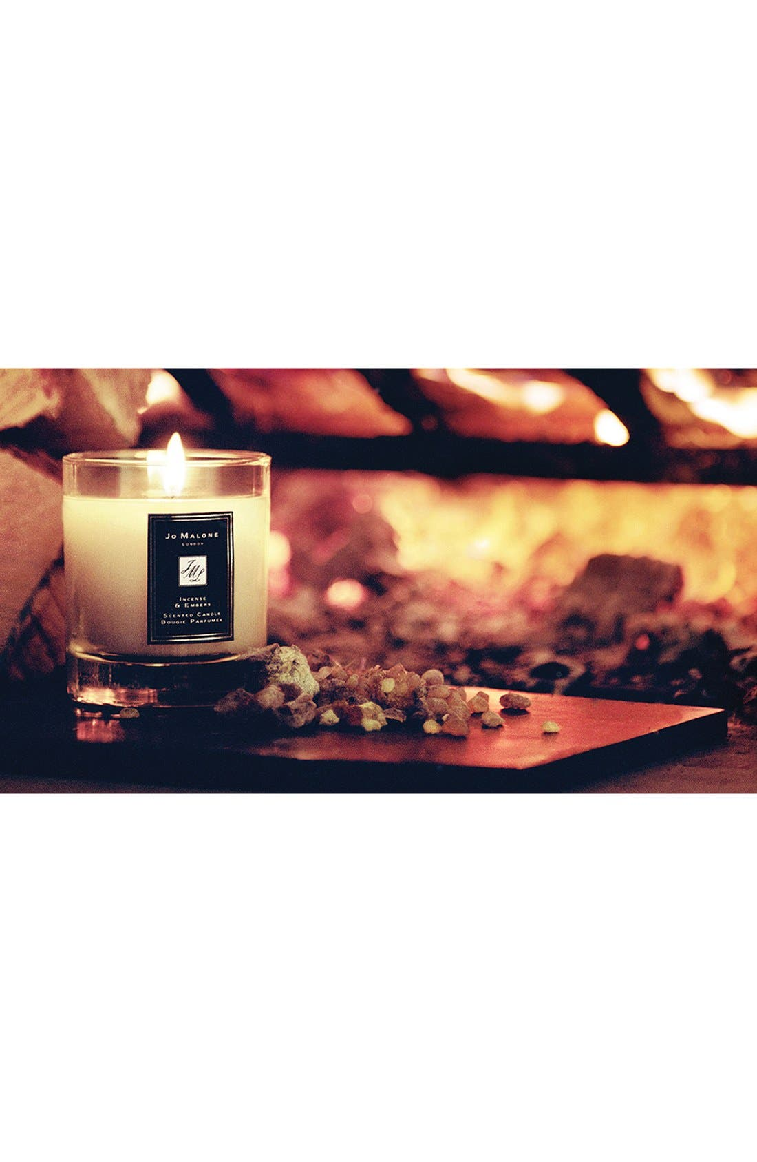 Jo Malone<sup>™</sup> Just Like Sunday - Incense & Embers Candle,                             Alternate thumbnail 3, color,                             NO COLOR