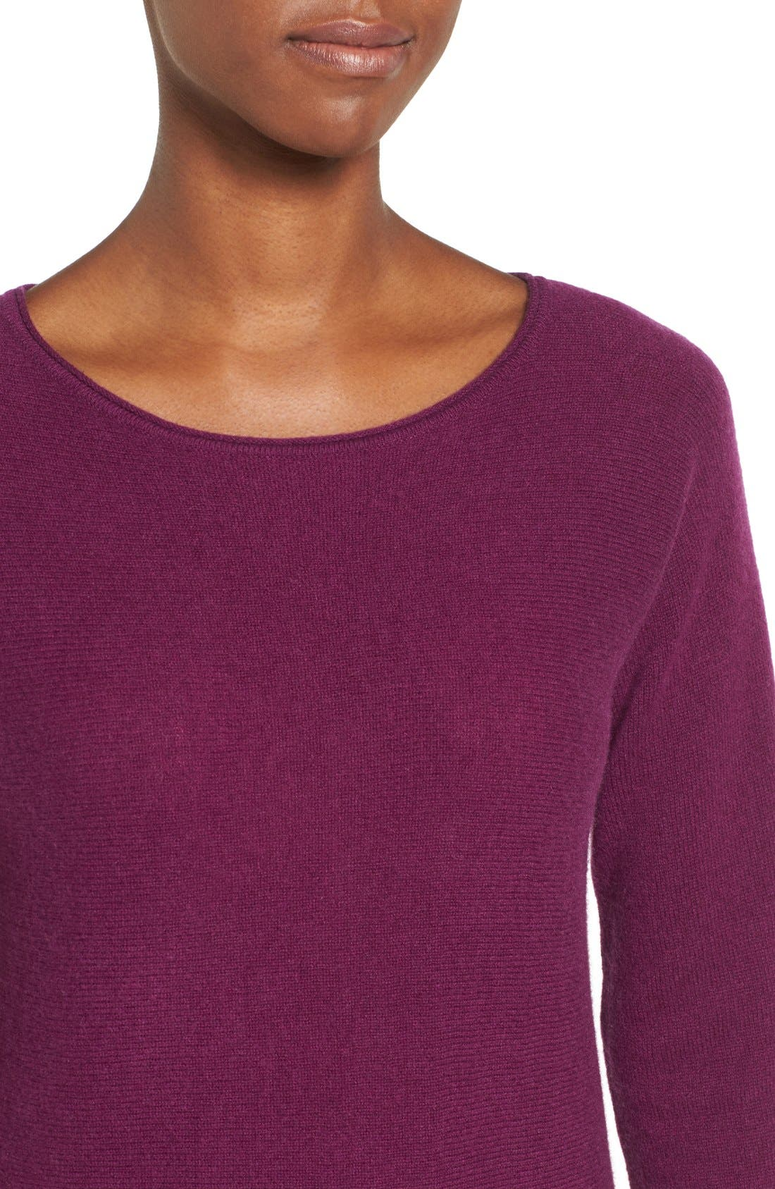 High/Low Wool & Cashmere Tunic Sweater,                             Alternate thumbnail 66, color,
