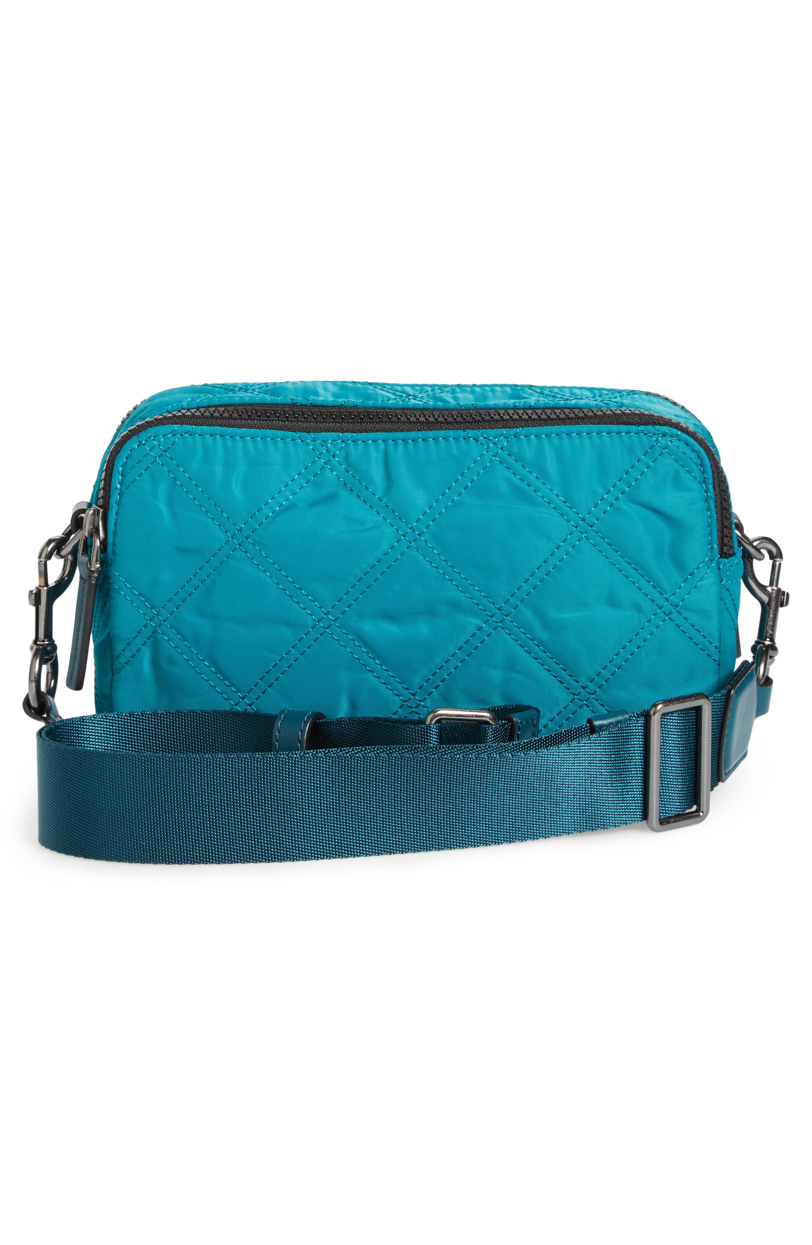 Nylon Knot Crossbody Bag,                             Alternate thumbnail 8, color,