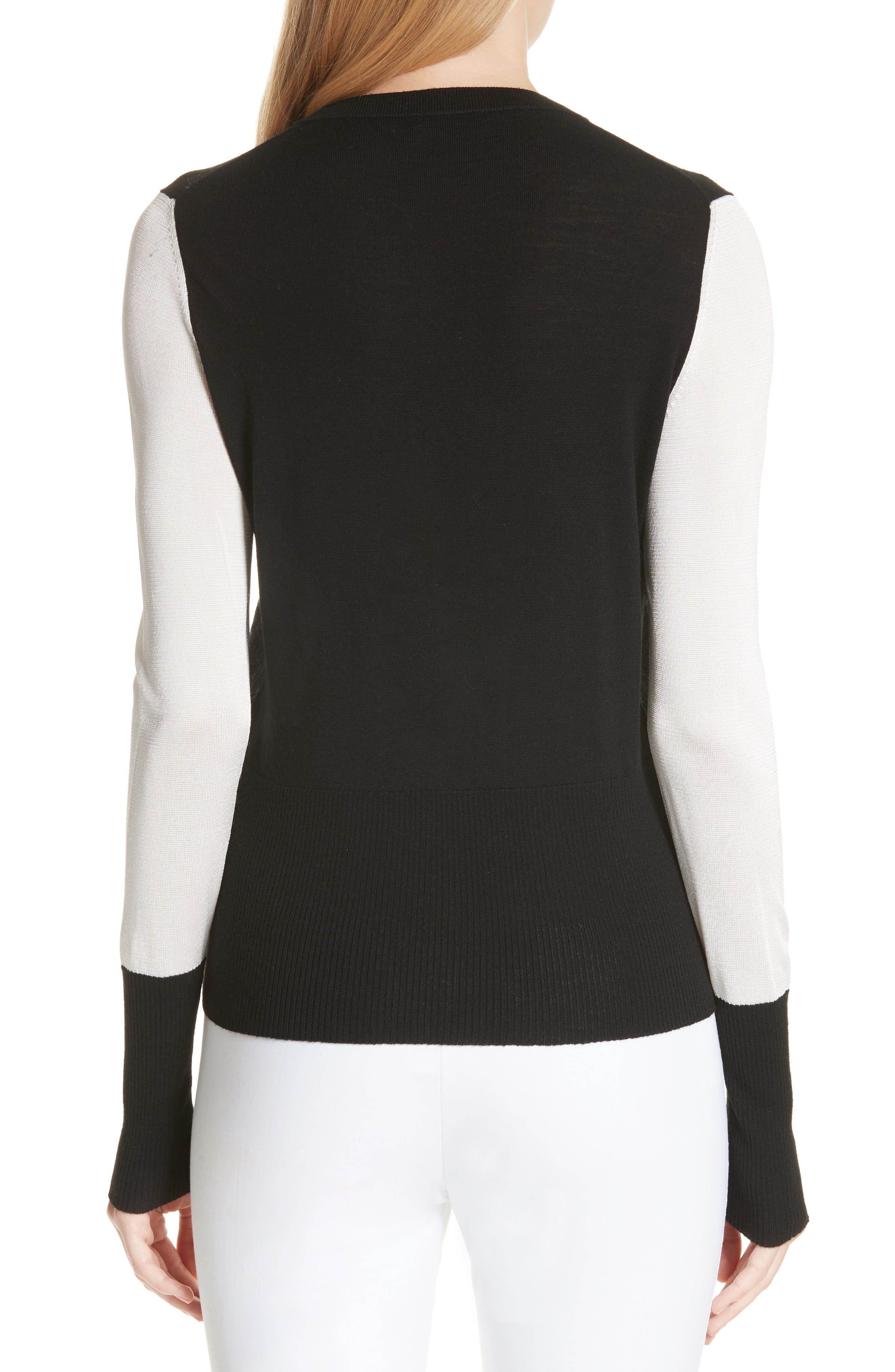 Marissa Colorblock Sweater,                             Alternate thumbnail 2, color,                             017