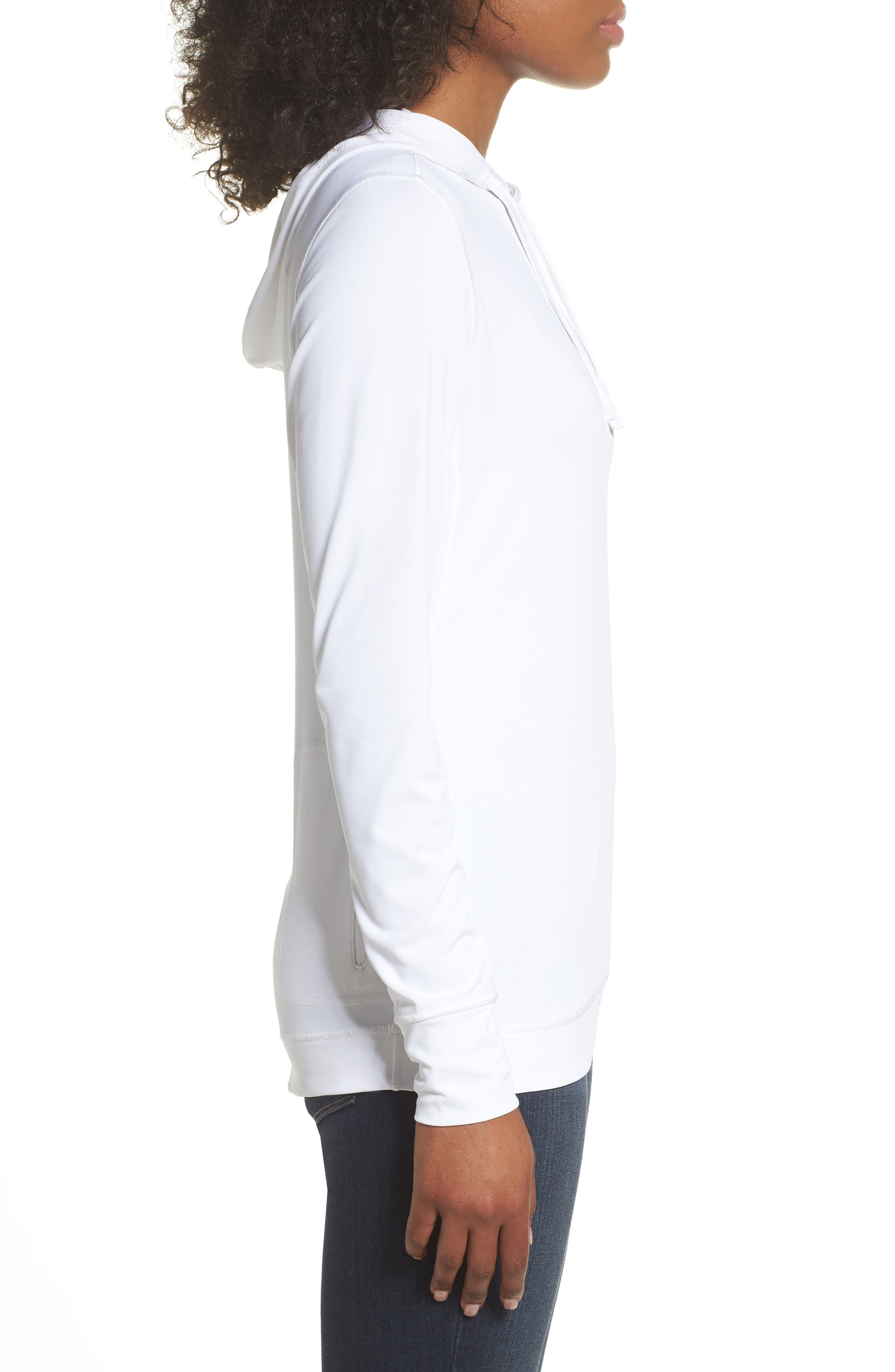 Shade Me Hooded Top,                             Alternate thumbnail 3, color,                             100