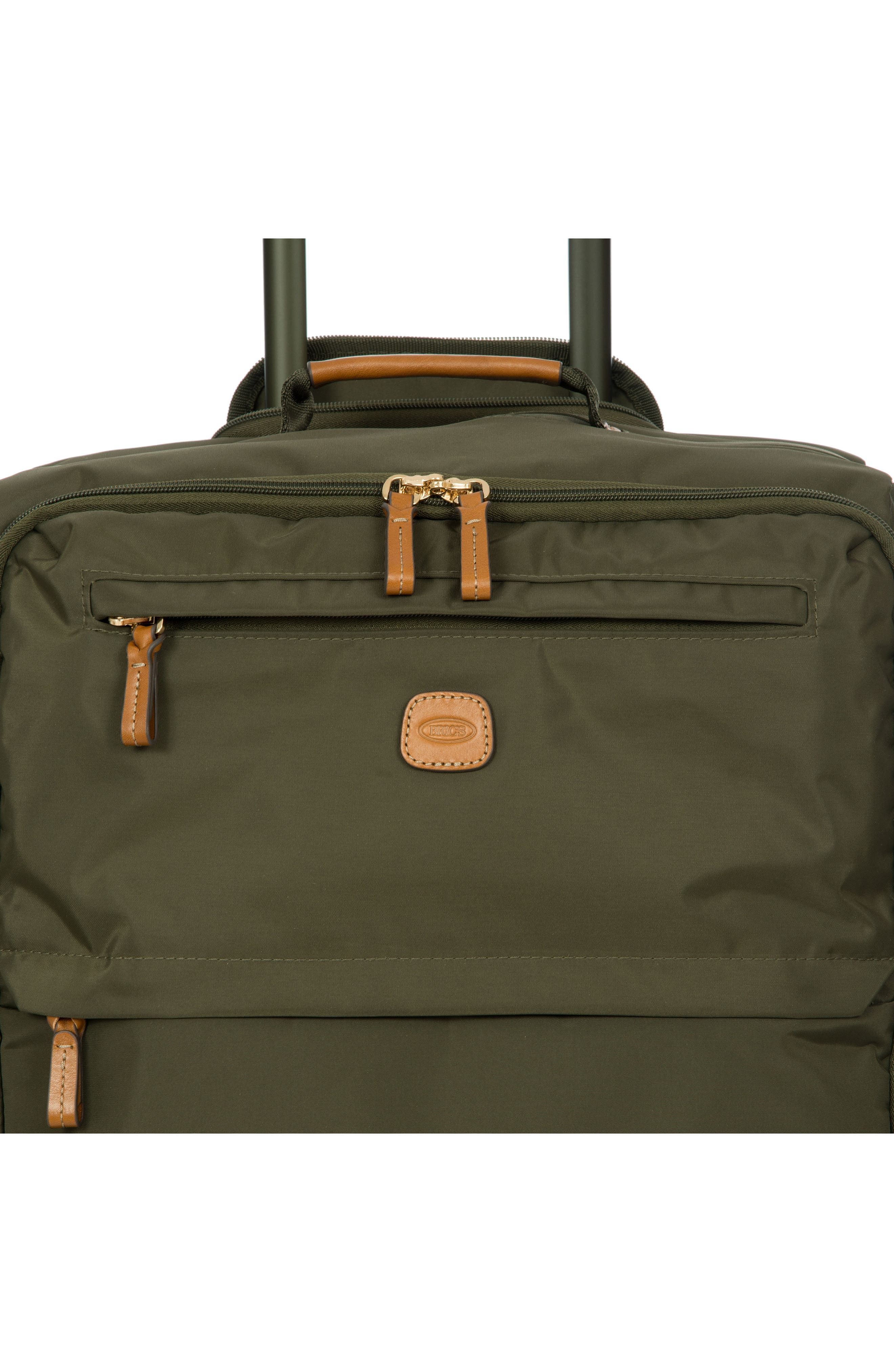 X-Bag 25-Inch Spinner Suitcase,                             Alternate thumbnail 5, color,                             OLIVE