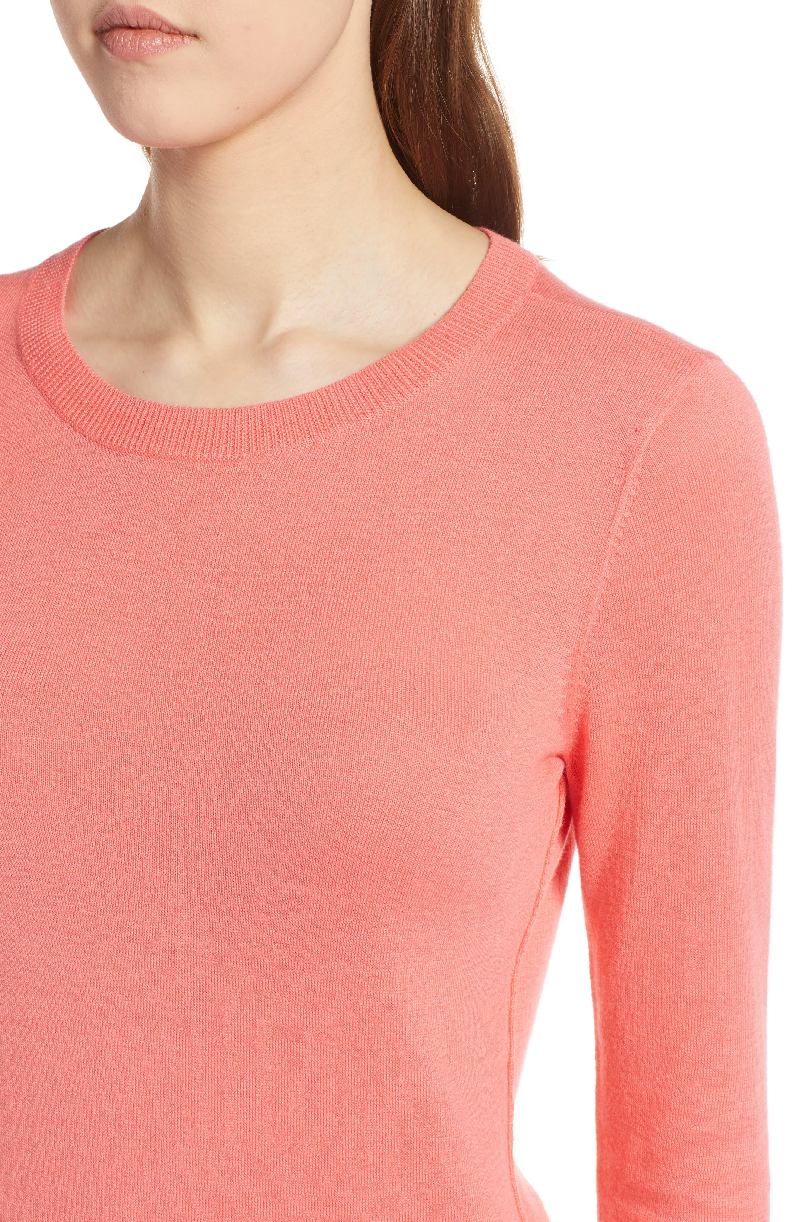 Cotton Blend Pullover,                             Alternate thumbnail 97, color,