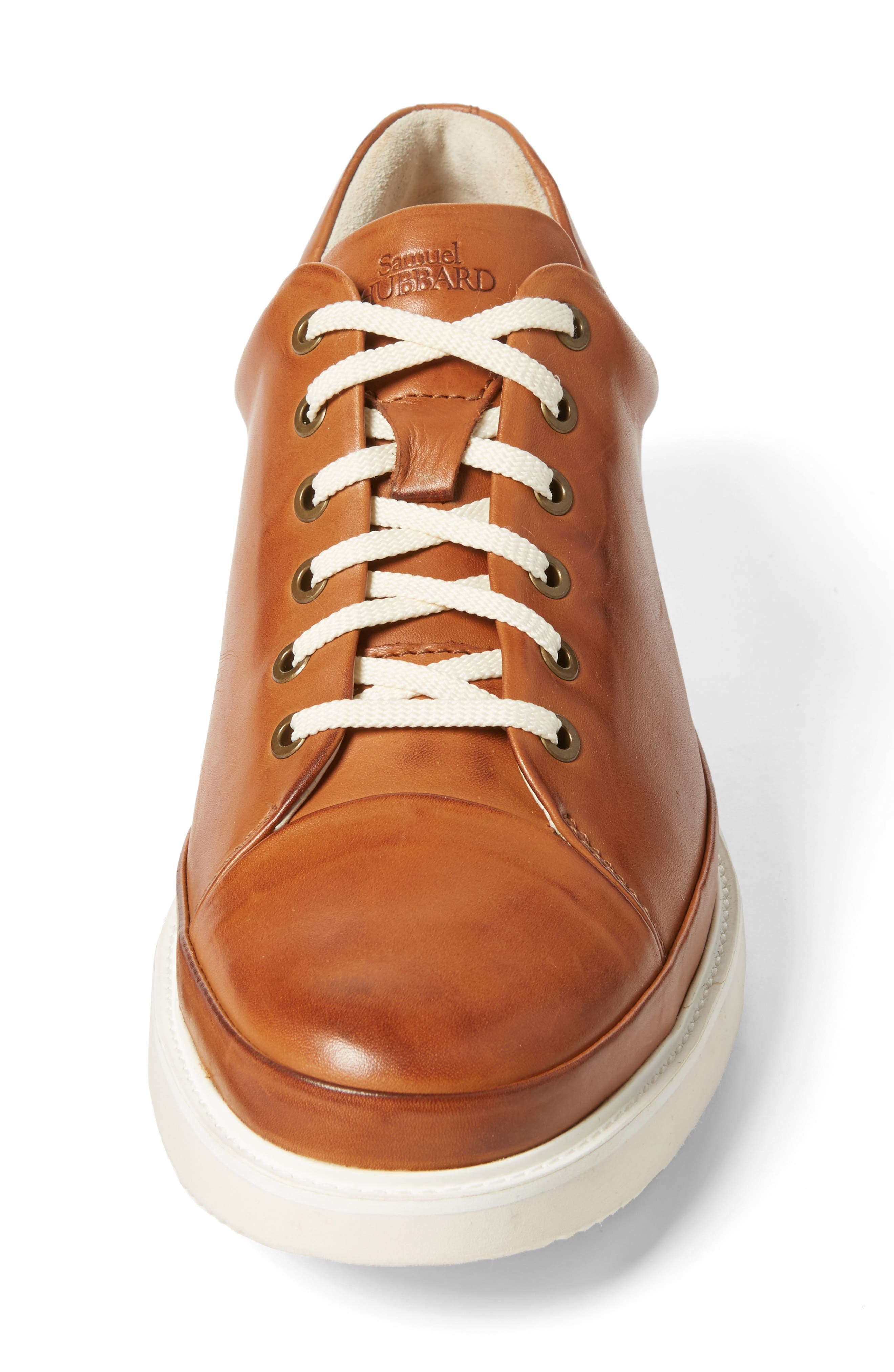 Sneaker,                             Alternate thumbnail 4, color,                             BURNISHED TAN