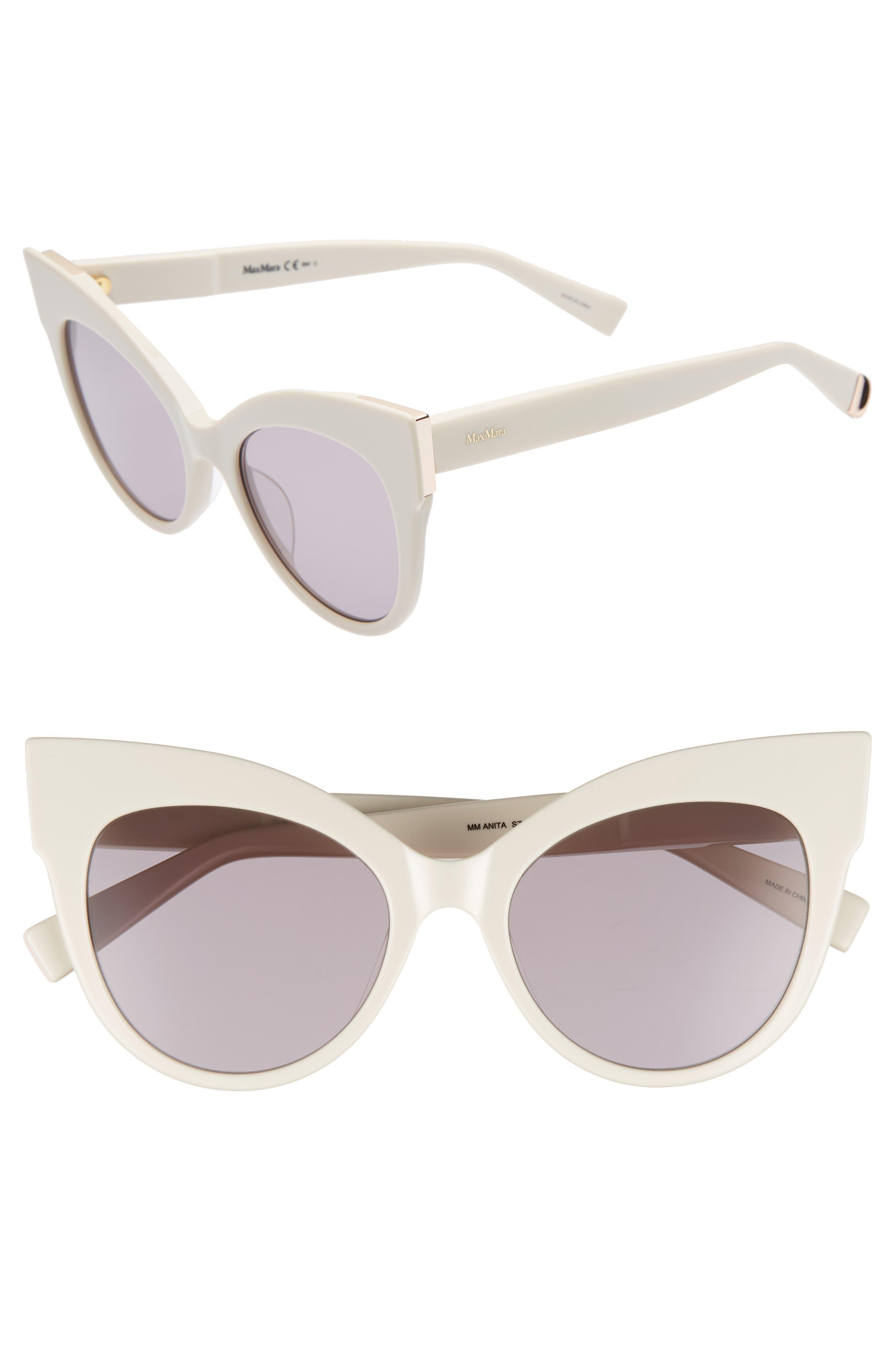 Anita 52mm Cat Eye Sunglasses,                             Main thumbnail 4, color,