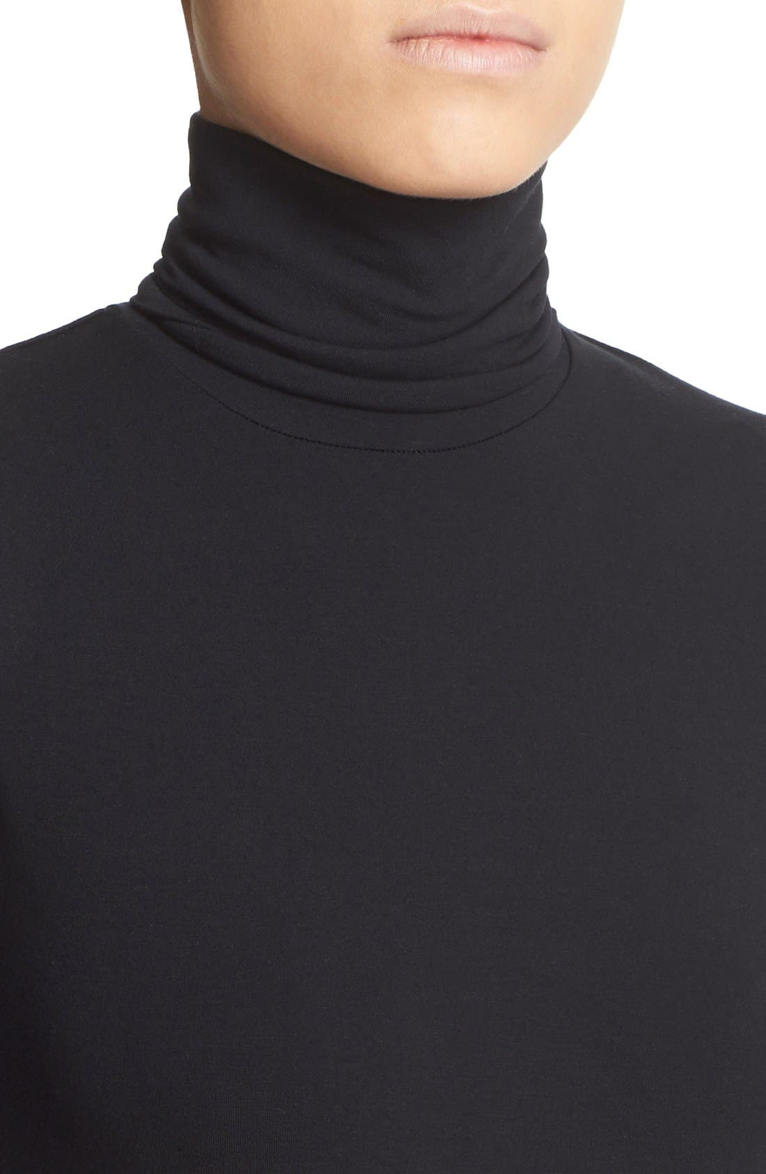 Turtleneck,                             Alternate thumbnail 7, color,                             NOIR
