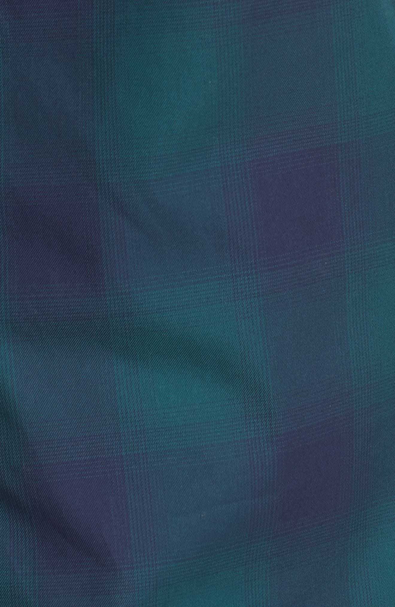 Slim Fit Check Sport Shirt,                             Alternate thumbnail 5, color,                             301