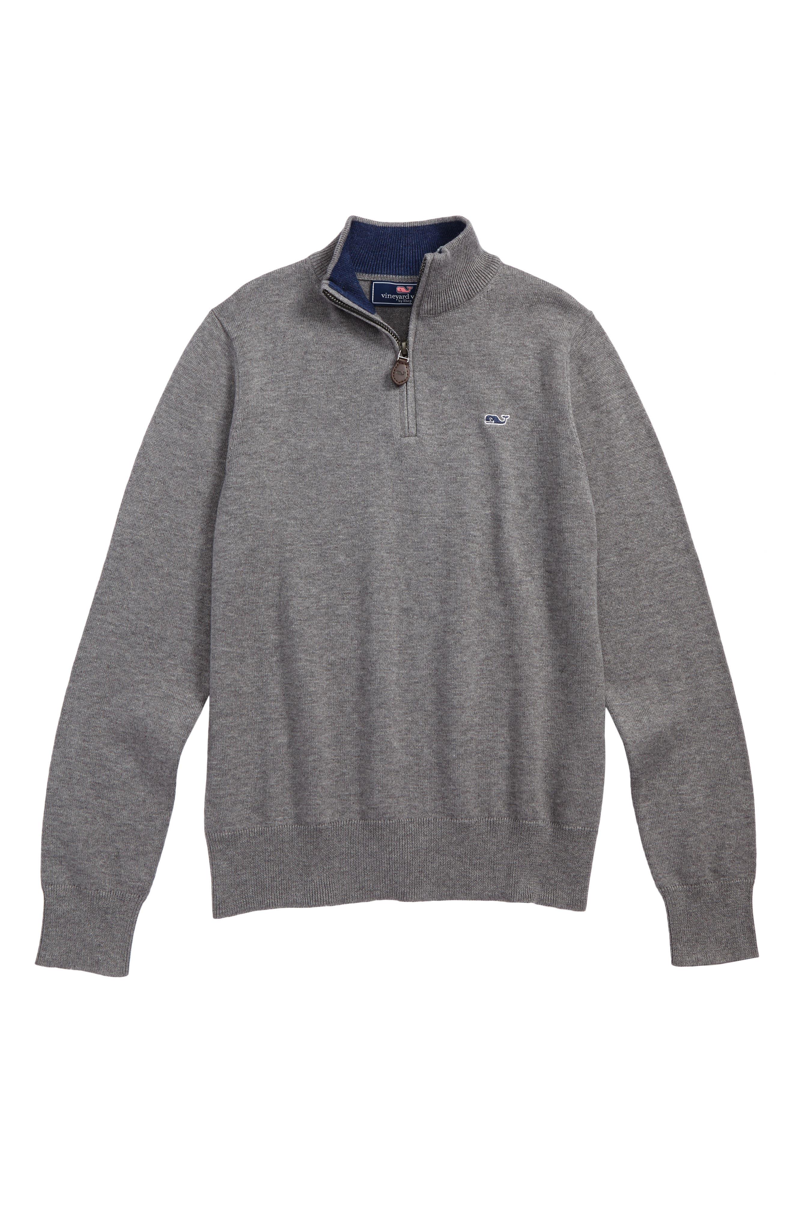 Classic Quarter Zip Sweater,                         Main,                         color, 030