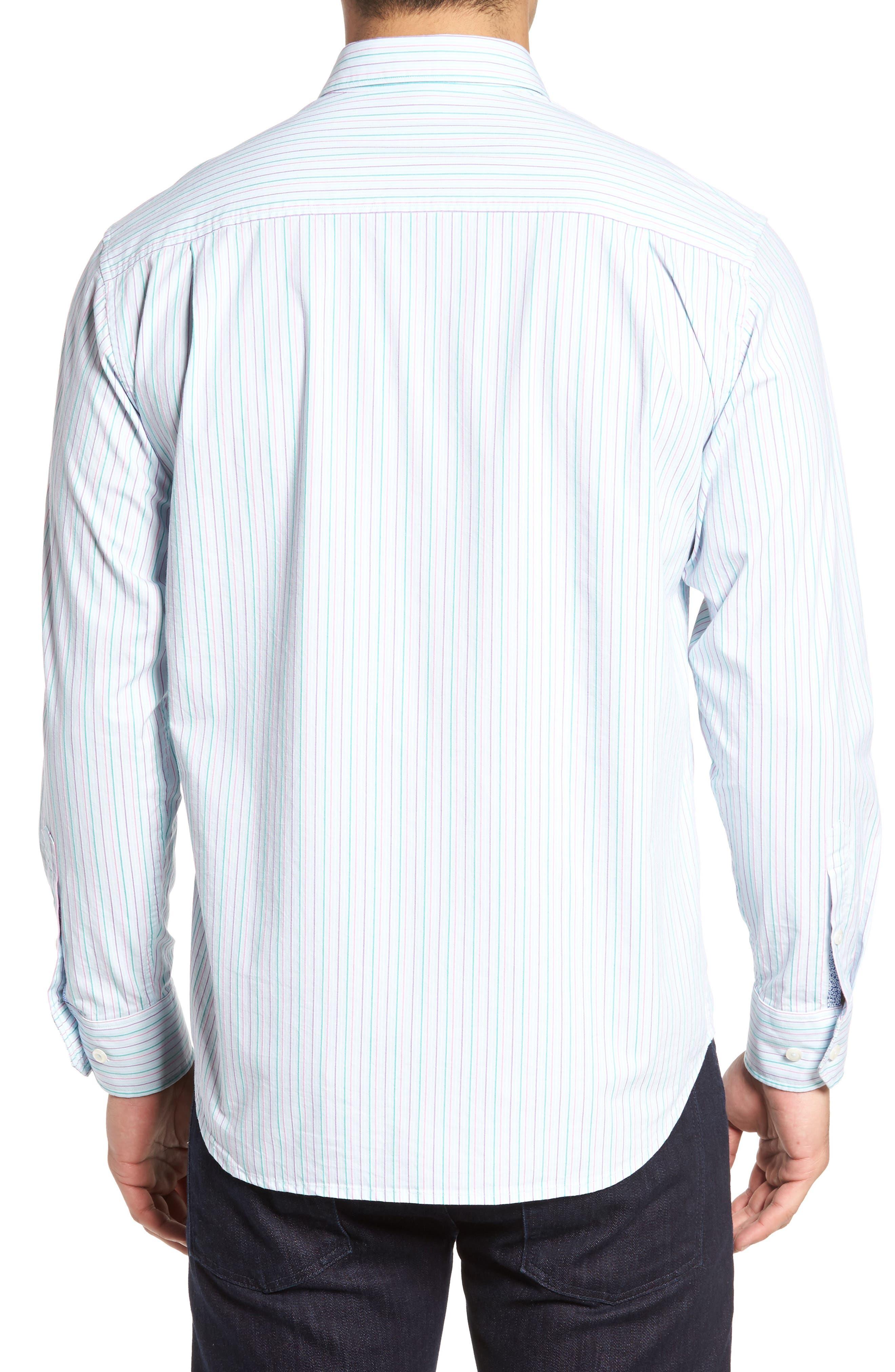 Tallahassee Cotton & Silk Blend Sport Shirt,                             Alternate thumbnail 2, color,                             400