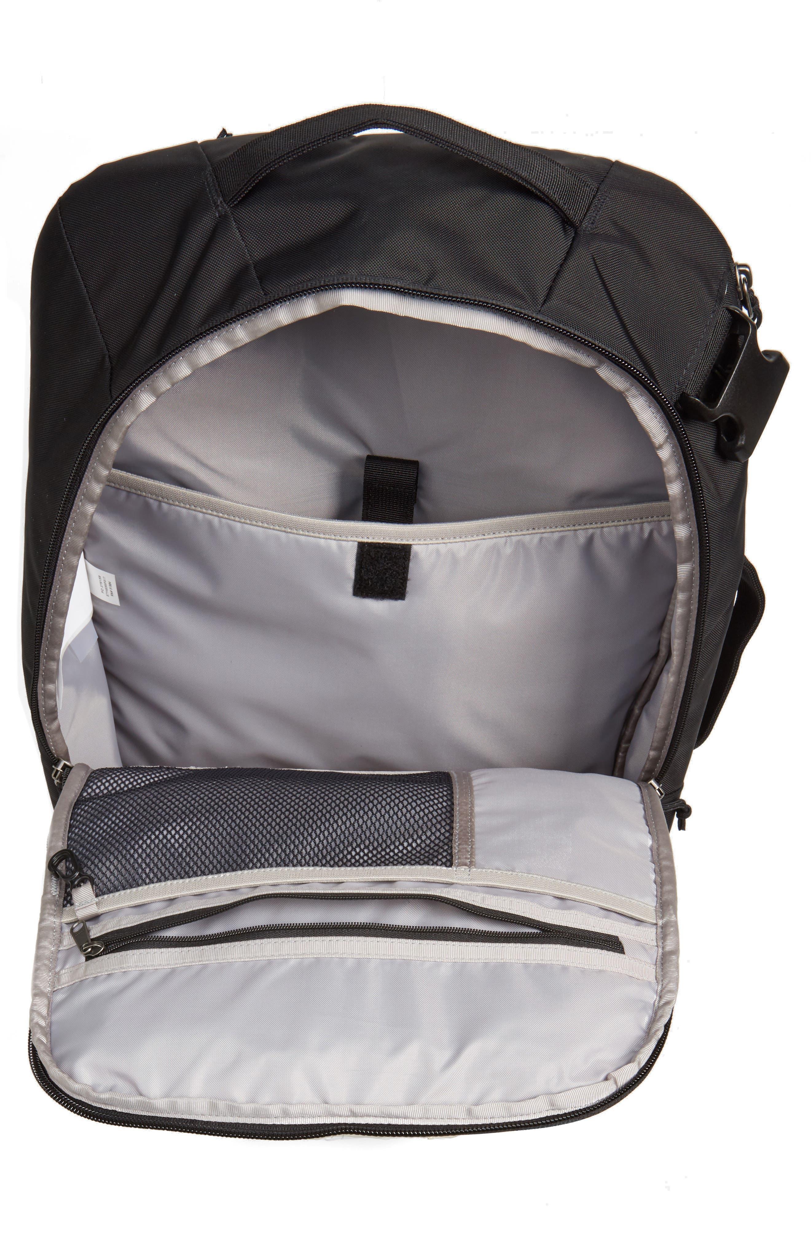 Tres 25-Liter Convertible Backpack,                             Alternate thumbnail 4, color,                             BLACK