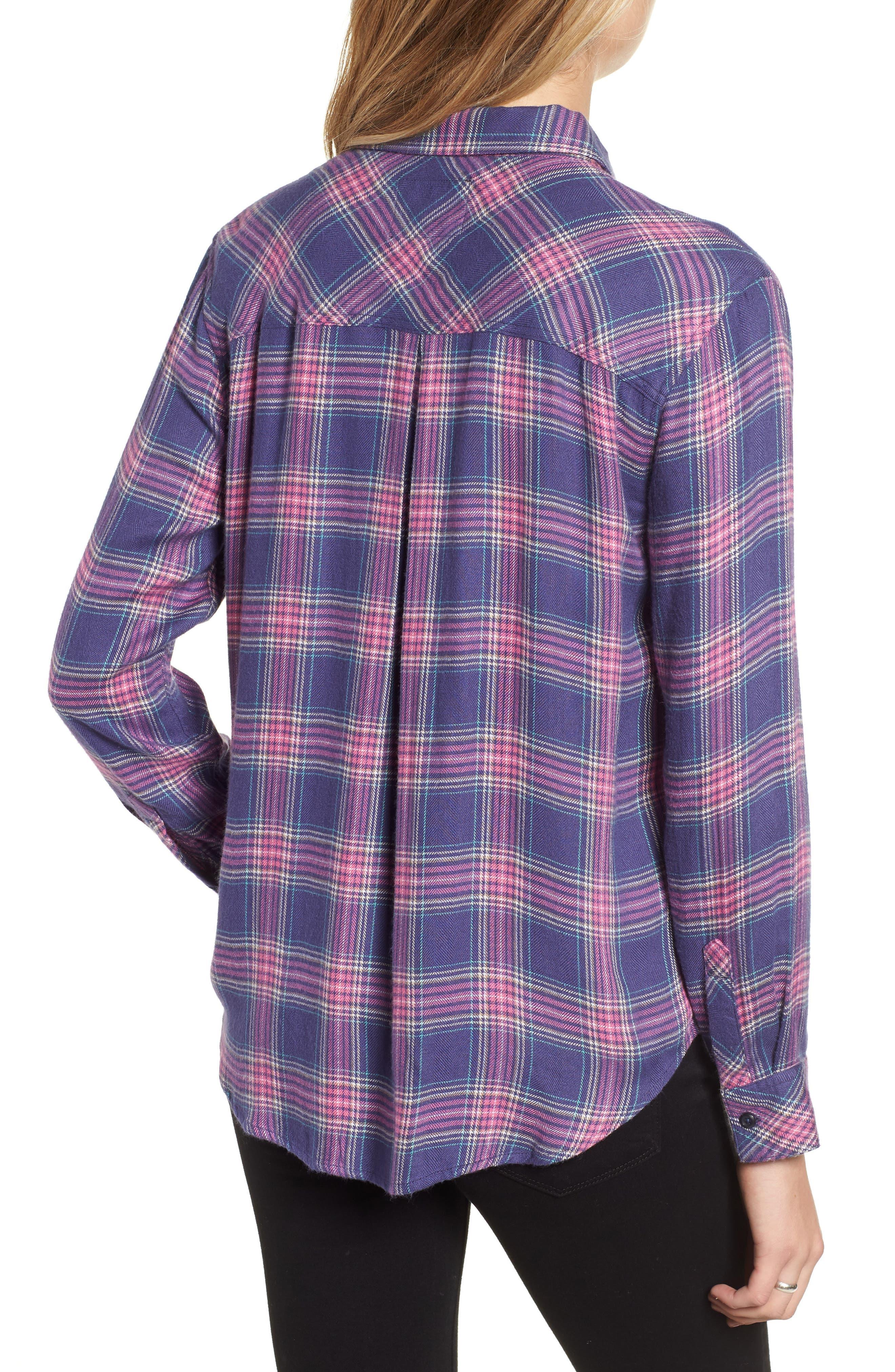 Hunter Plaid Shirt,                             Alternate thumbnail 217, color,