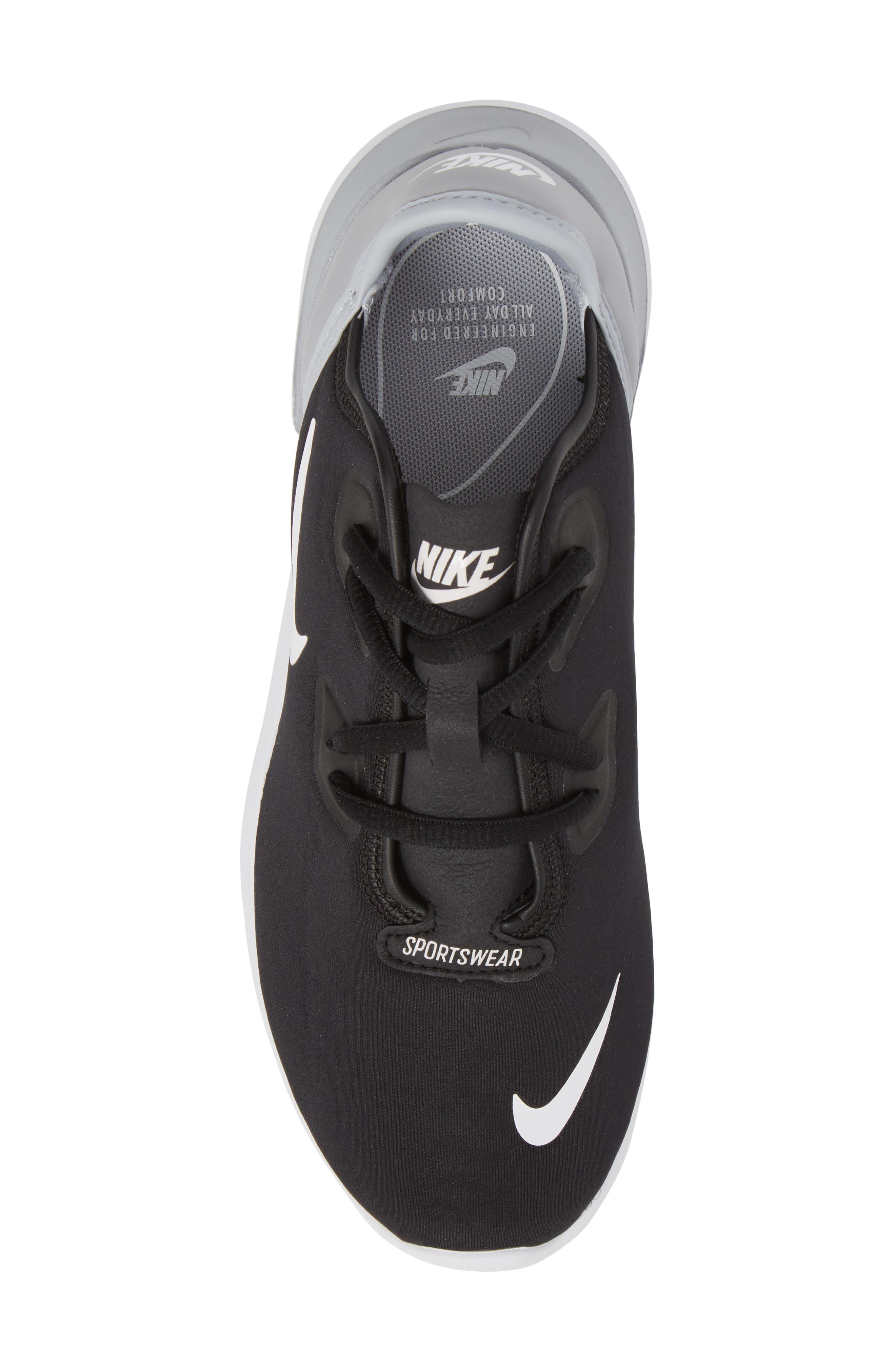 Hakata Sneaker,                             Alternate thumbnail 5, color,                             BLACK/ WHITE