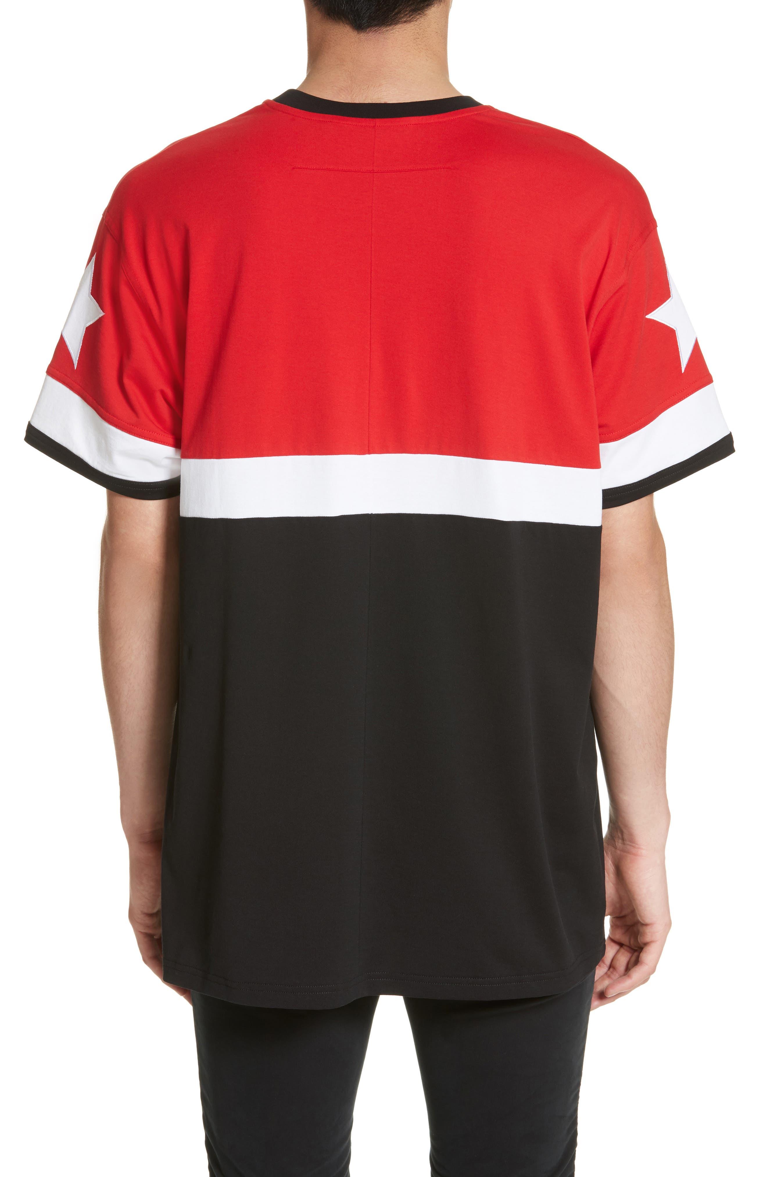 Columbian Fit Colorblock T-Shirt,                             Alternate thumbnail 4, color,