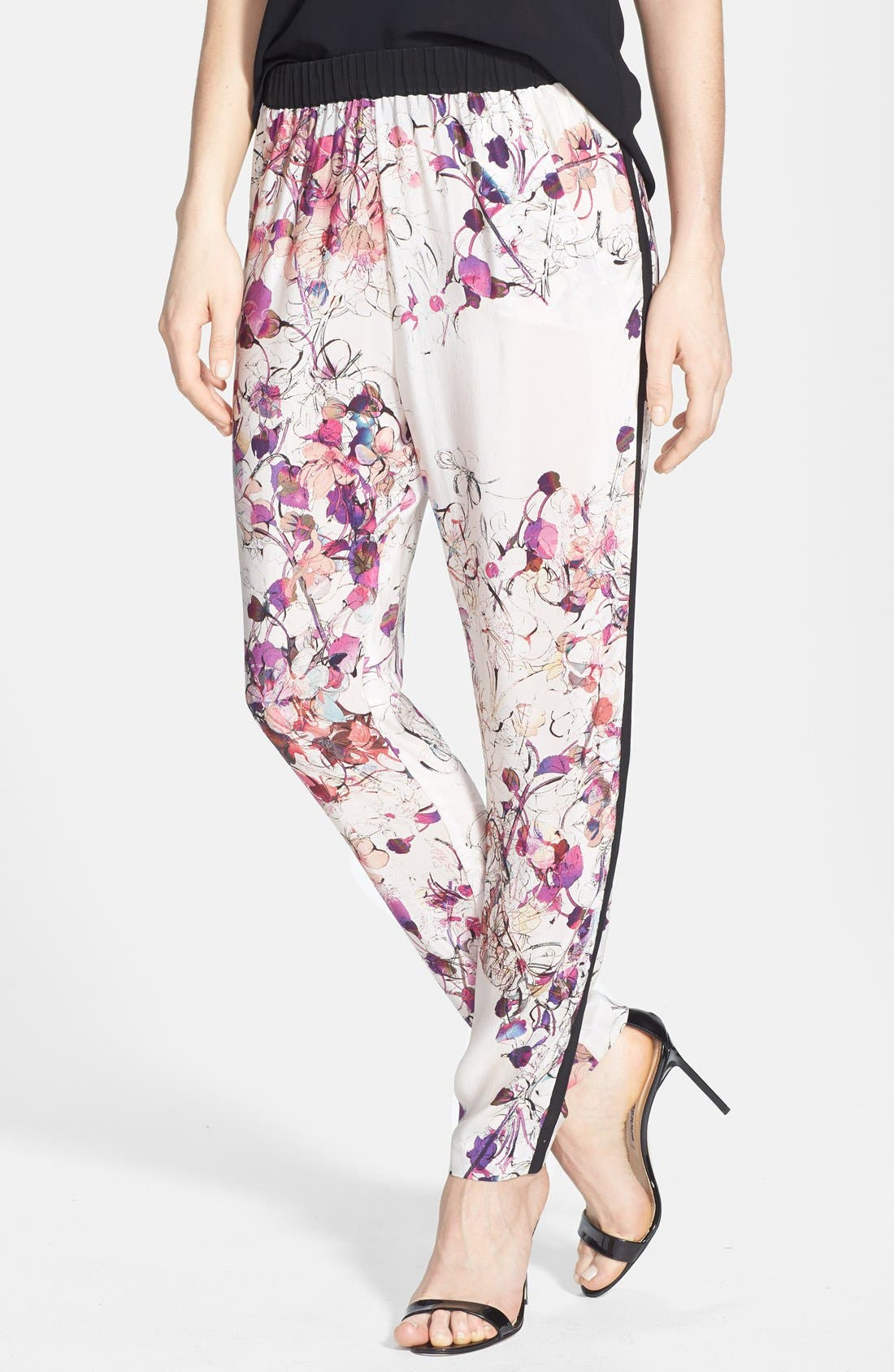Print Woven Track Pants,                         Main,                         color, 680