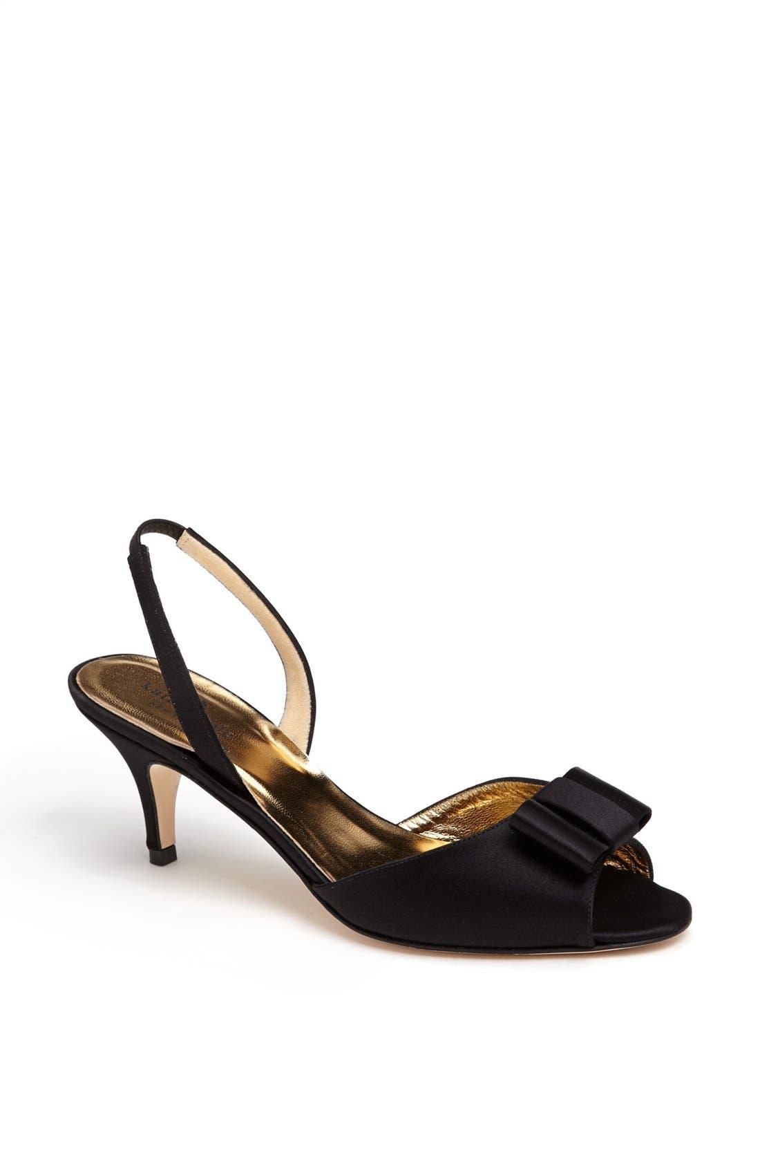'emelia' sandal,                         Main,                         color, 001