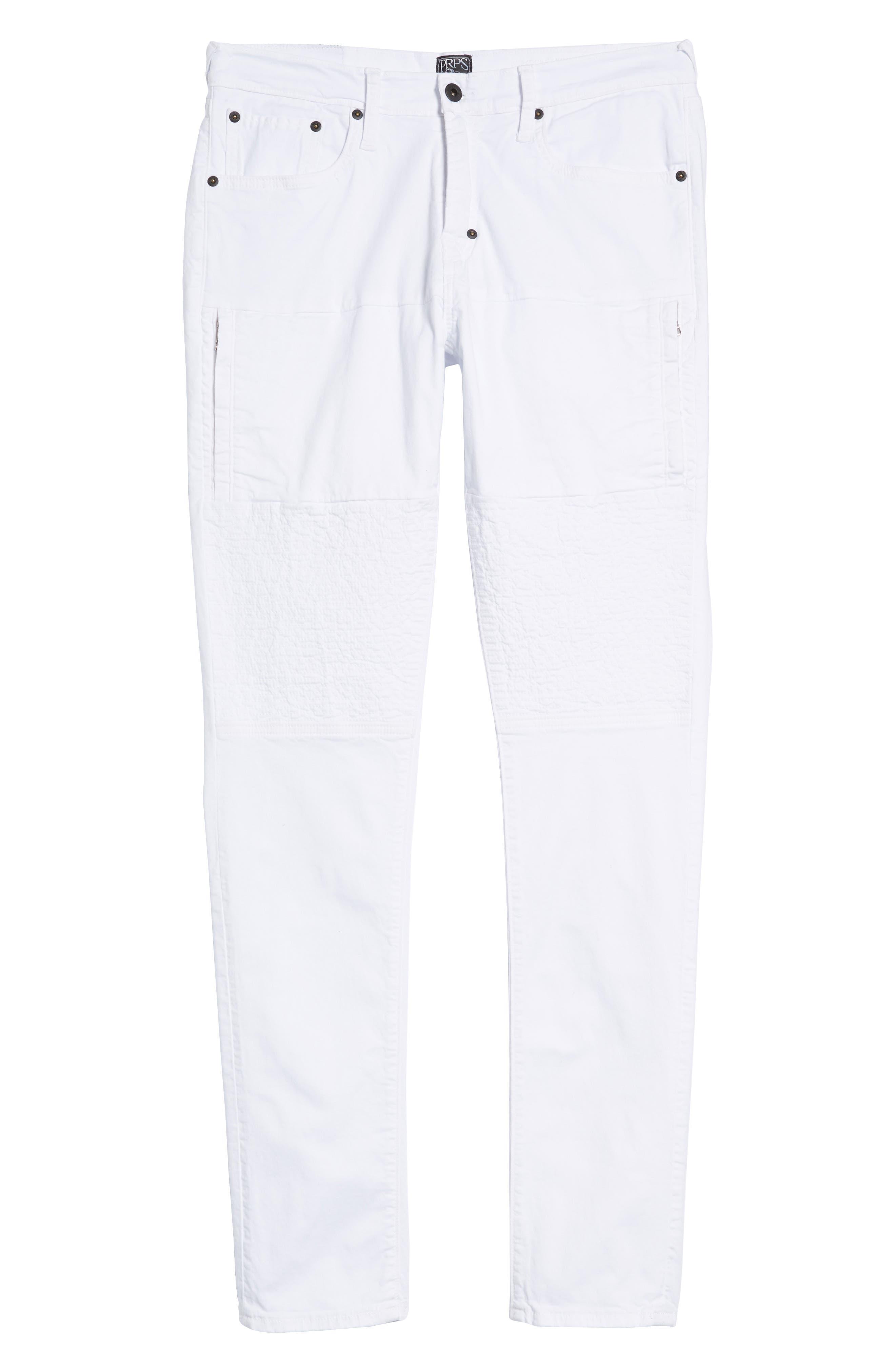 Windsor Slim Fit Jeans,                             Alternate thumbnail 6, color,                             SKELETON