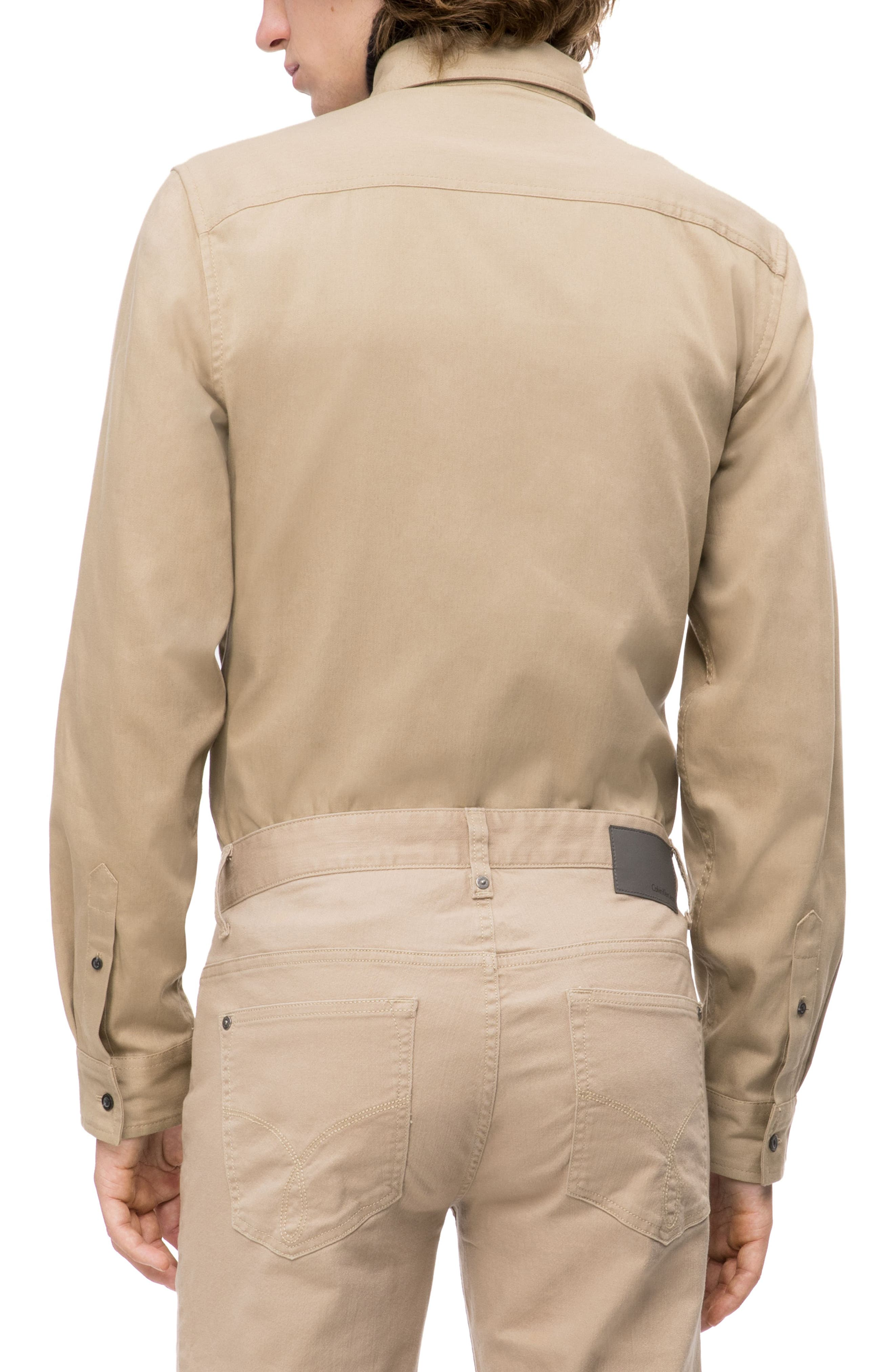 Military Shirt,                             Alternate thumbnail 3, color,                             CANTUCCI
