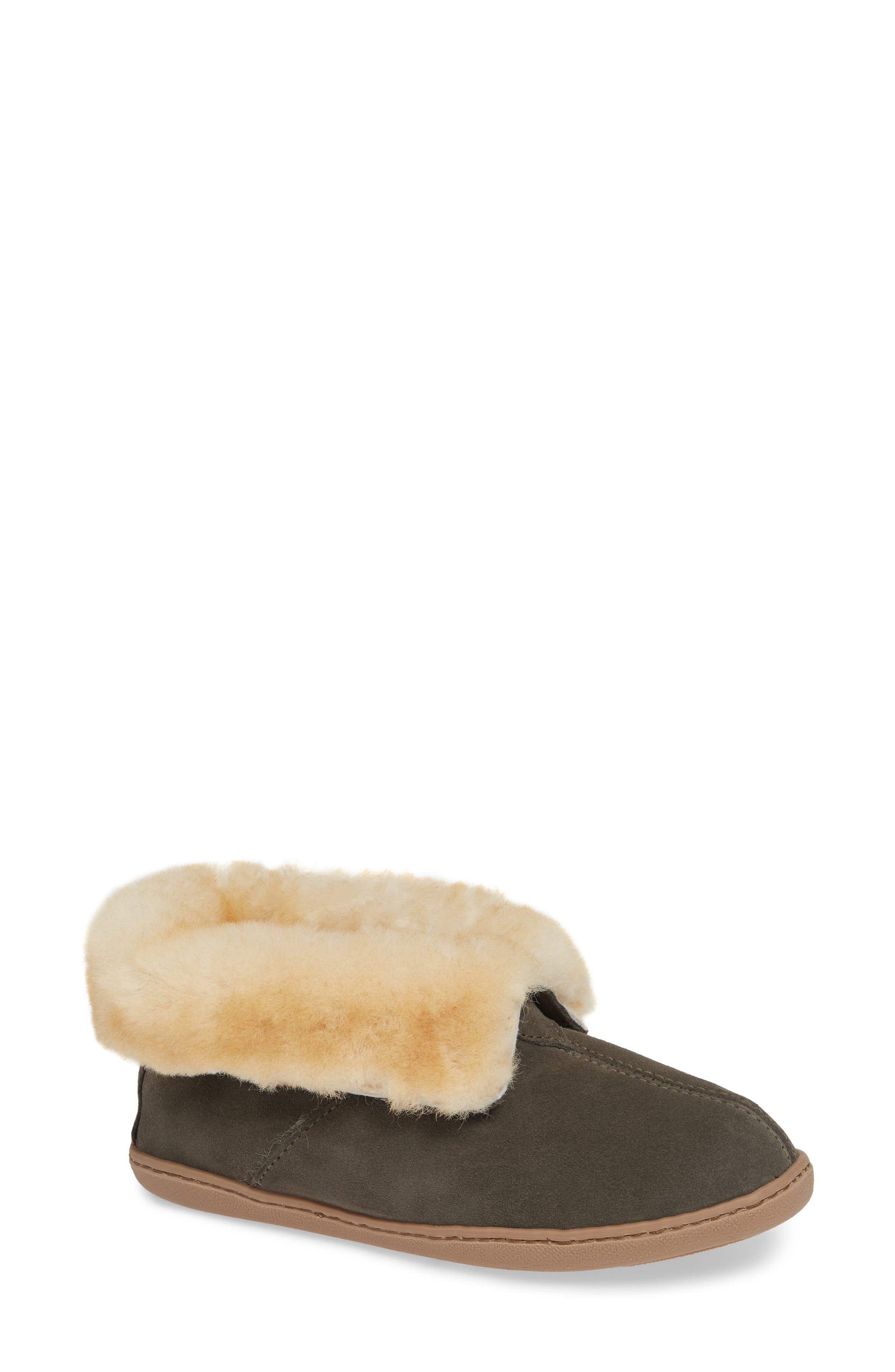 Minnetonka SHEEPSKIN SLIPPER BOOTIE
