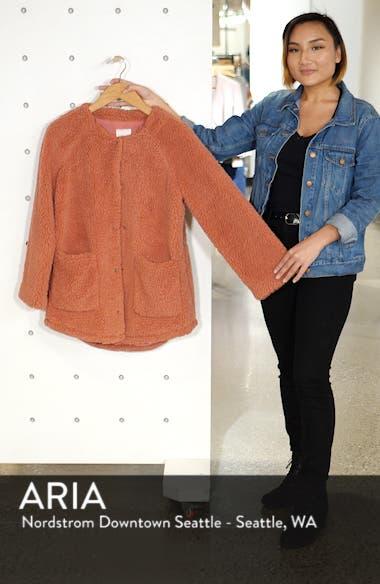 Fuzzy Fleece Jacket, sales video thumbnail