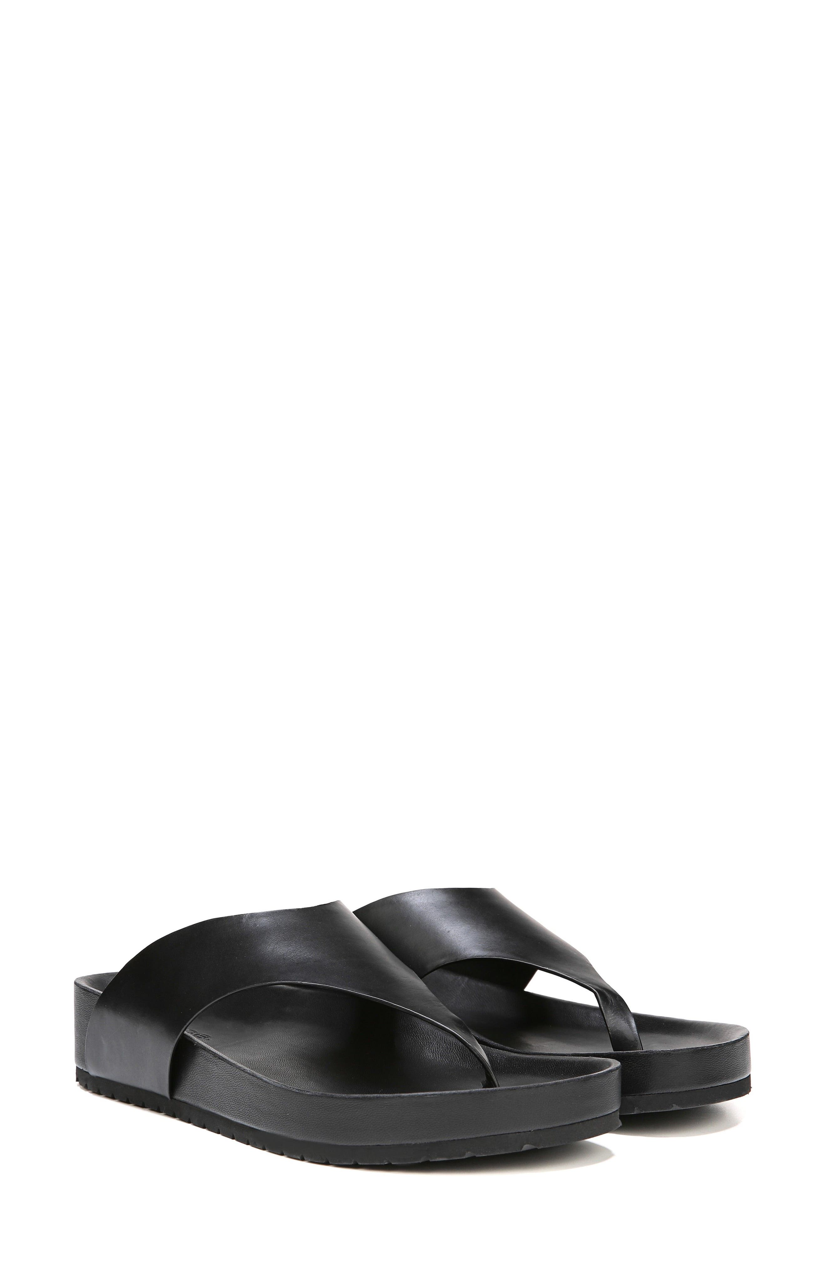 Padma Platform Sandal,                             Alternate thumbnail 6, color,                             BLACK