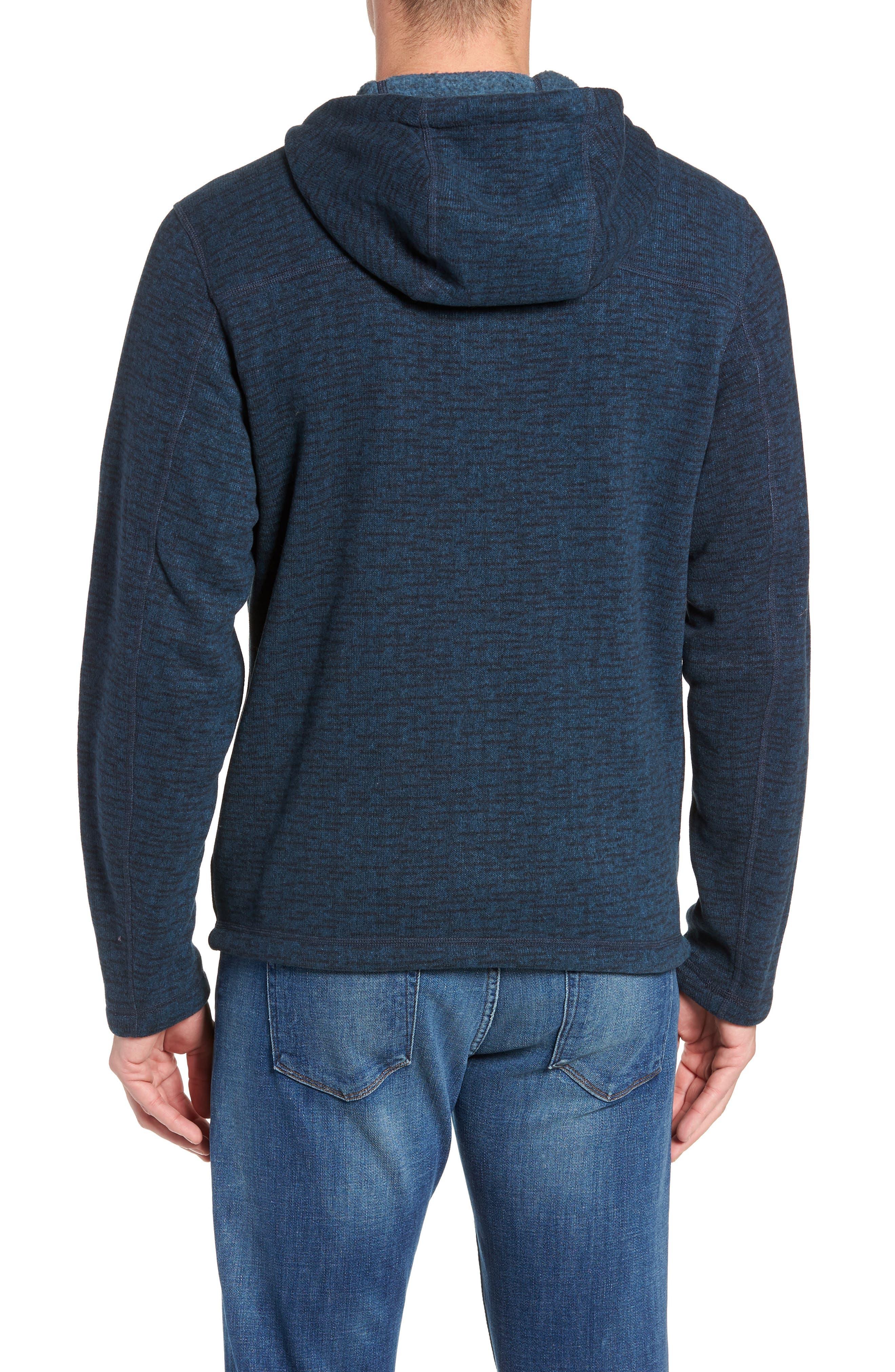 Gordon Lyons Alpine Sweater Fleece Hoodie,                             Alternate thumbnail 2, color,                             URBAN NAVY