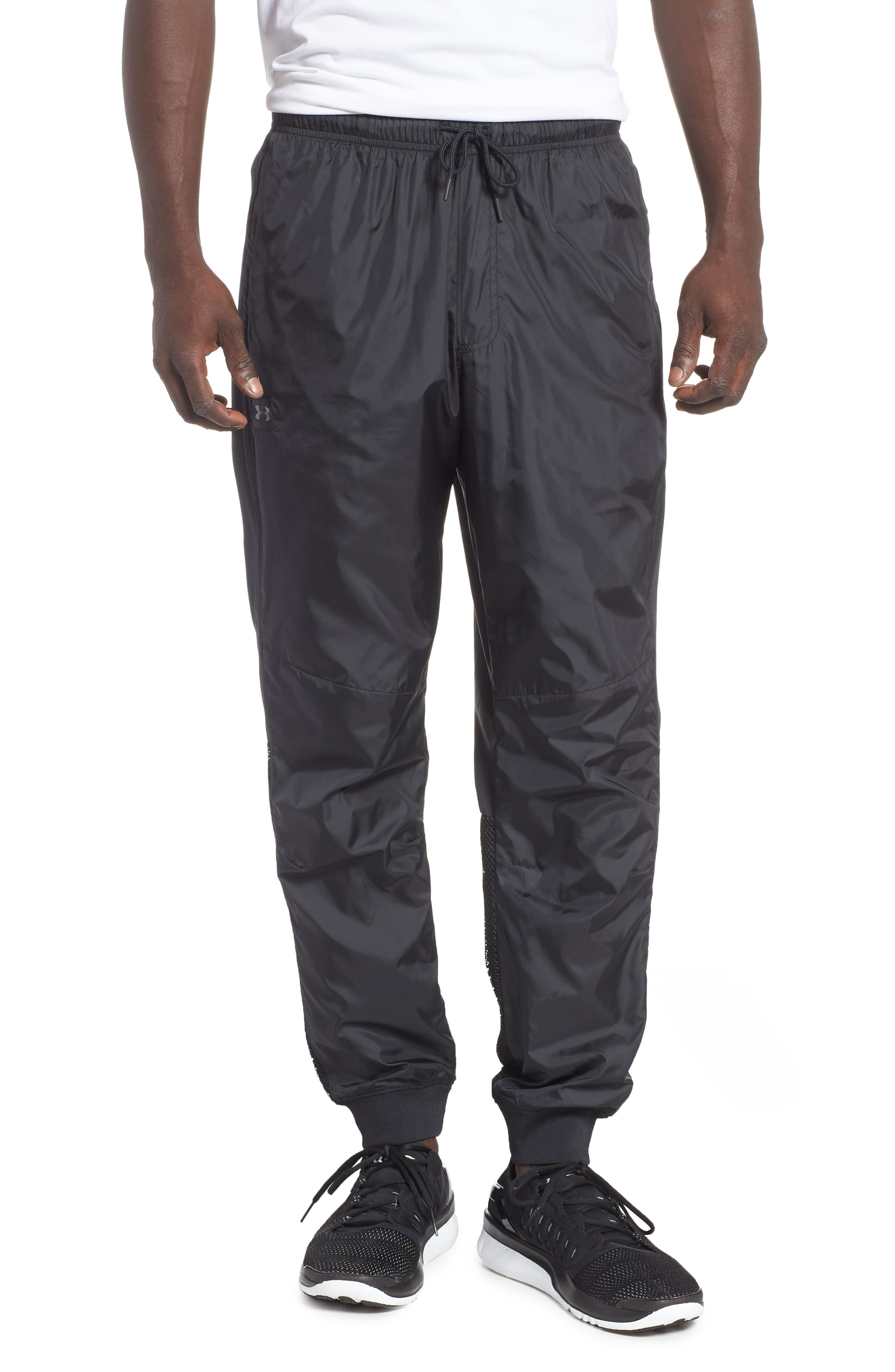 Under Armour Sportstyle Wind Pants, Black