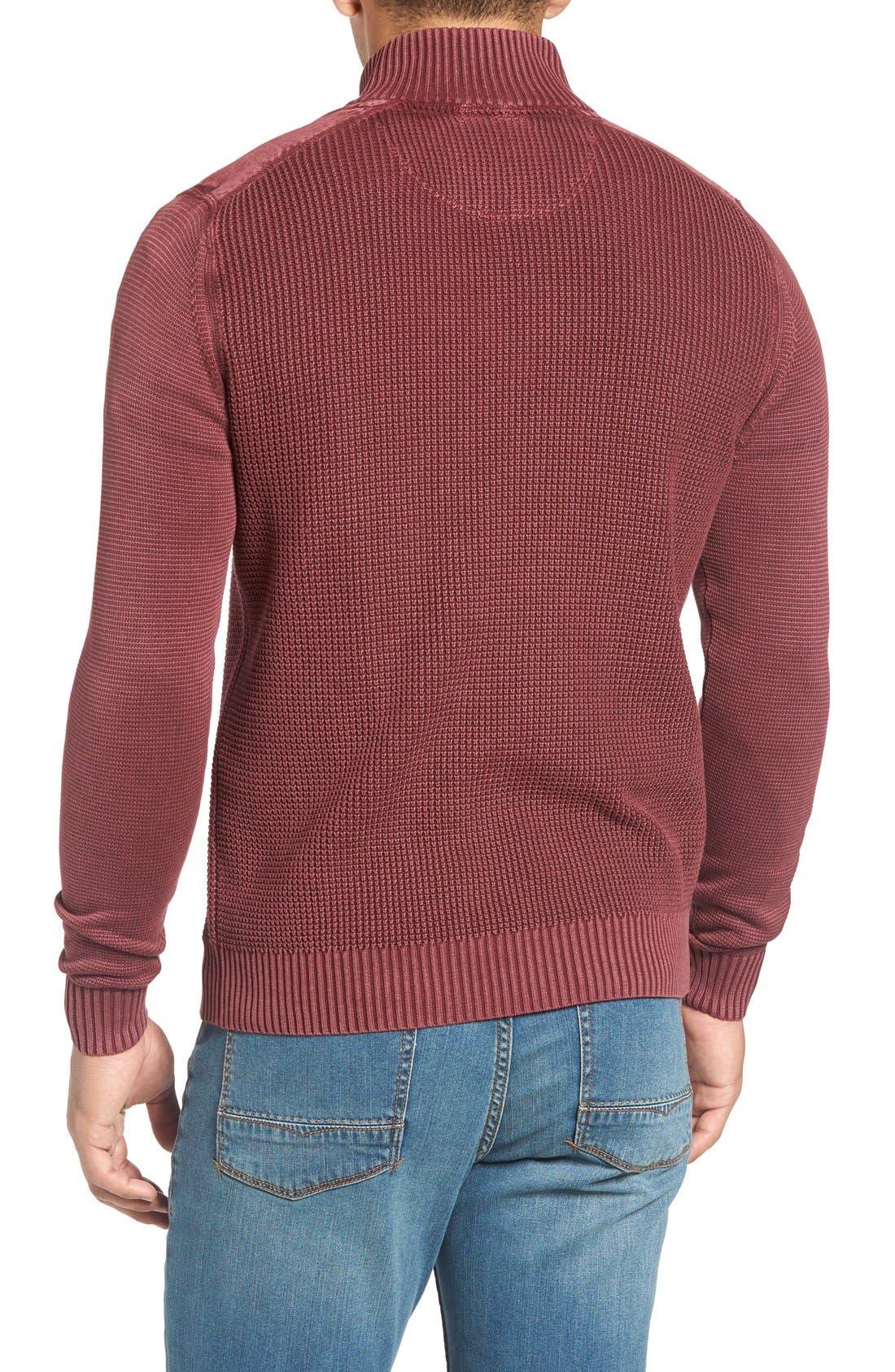 Coastal Shores Quarter Zip Sweater,                             Alternate thumbnail 18, color,