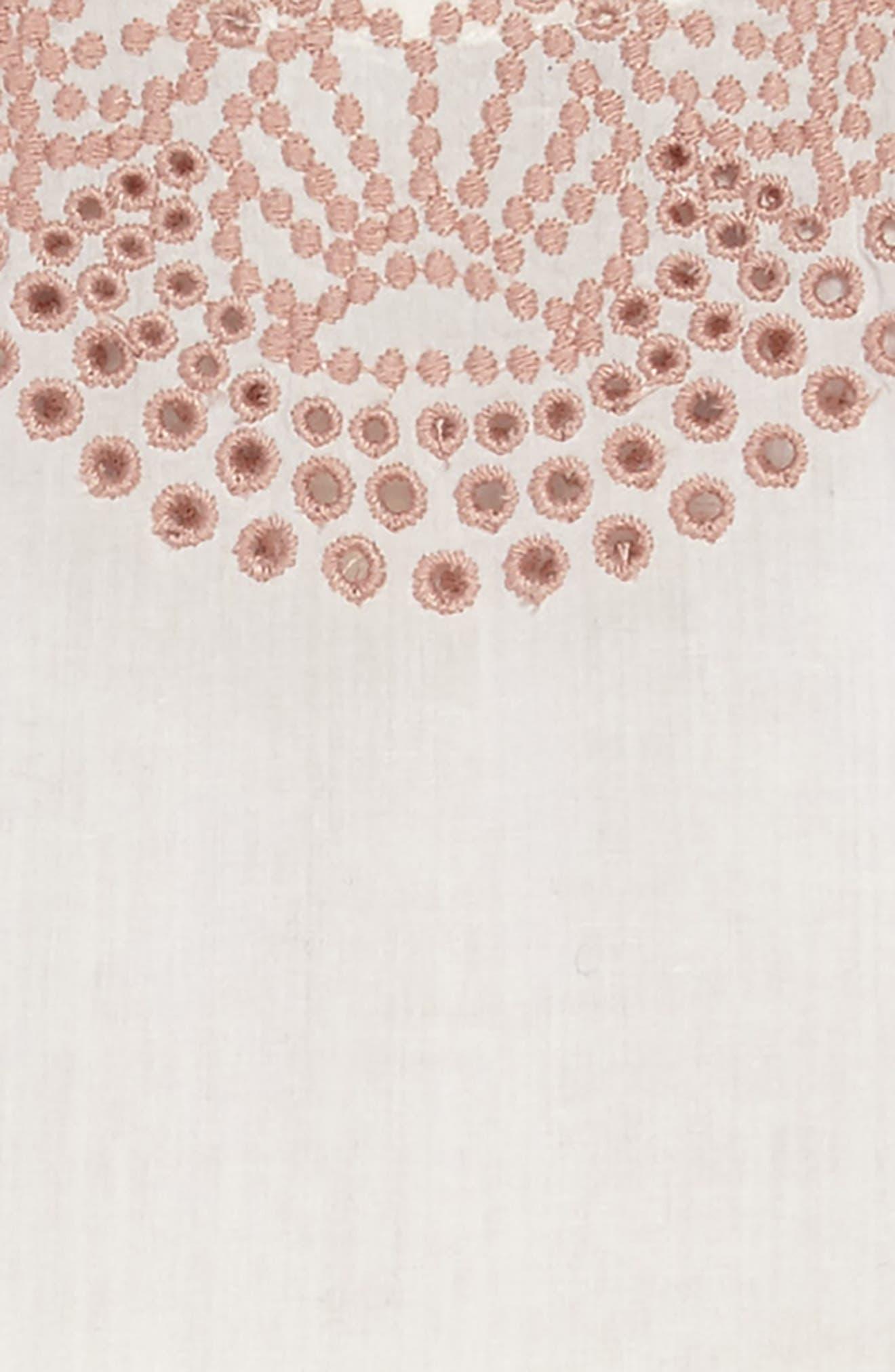 STELLA MCCARTNEY,                             Embroidered Sleeveless Dress,                             Alternate thumbnail 3, color,                             900