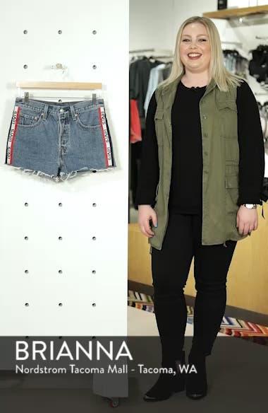 501<sup>®</sup> Cutoff Denim Shorts, sales video thumbnail