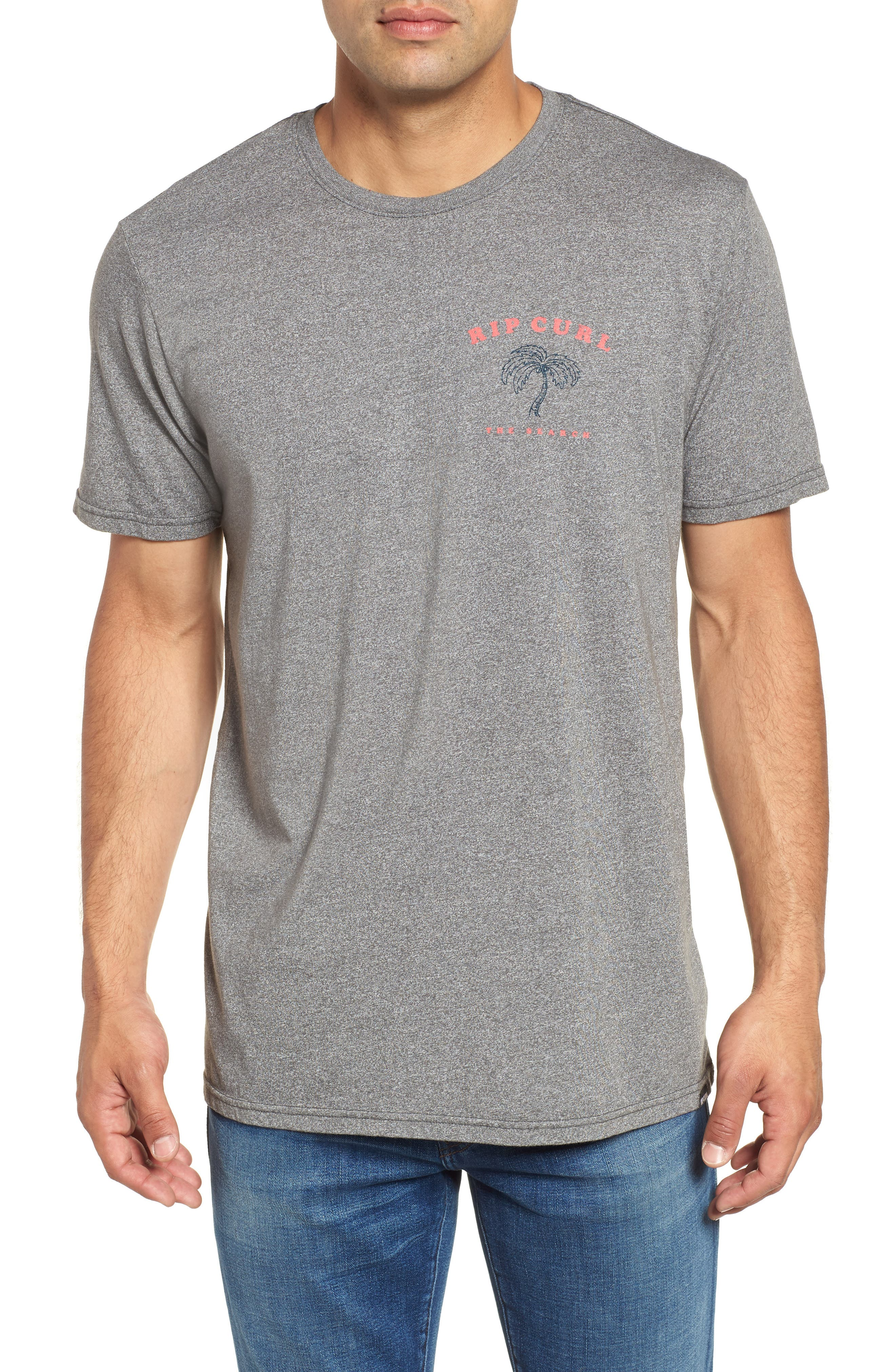 Beach Break Mock Twist T-Shirt,                             Main thumbnail 1, color,
