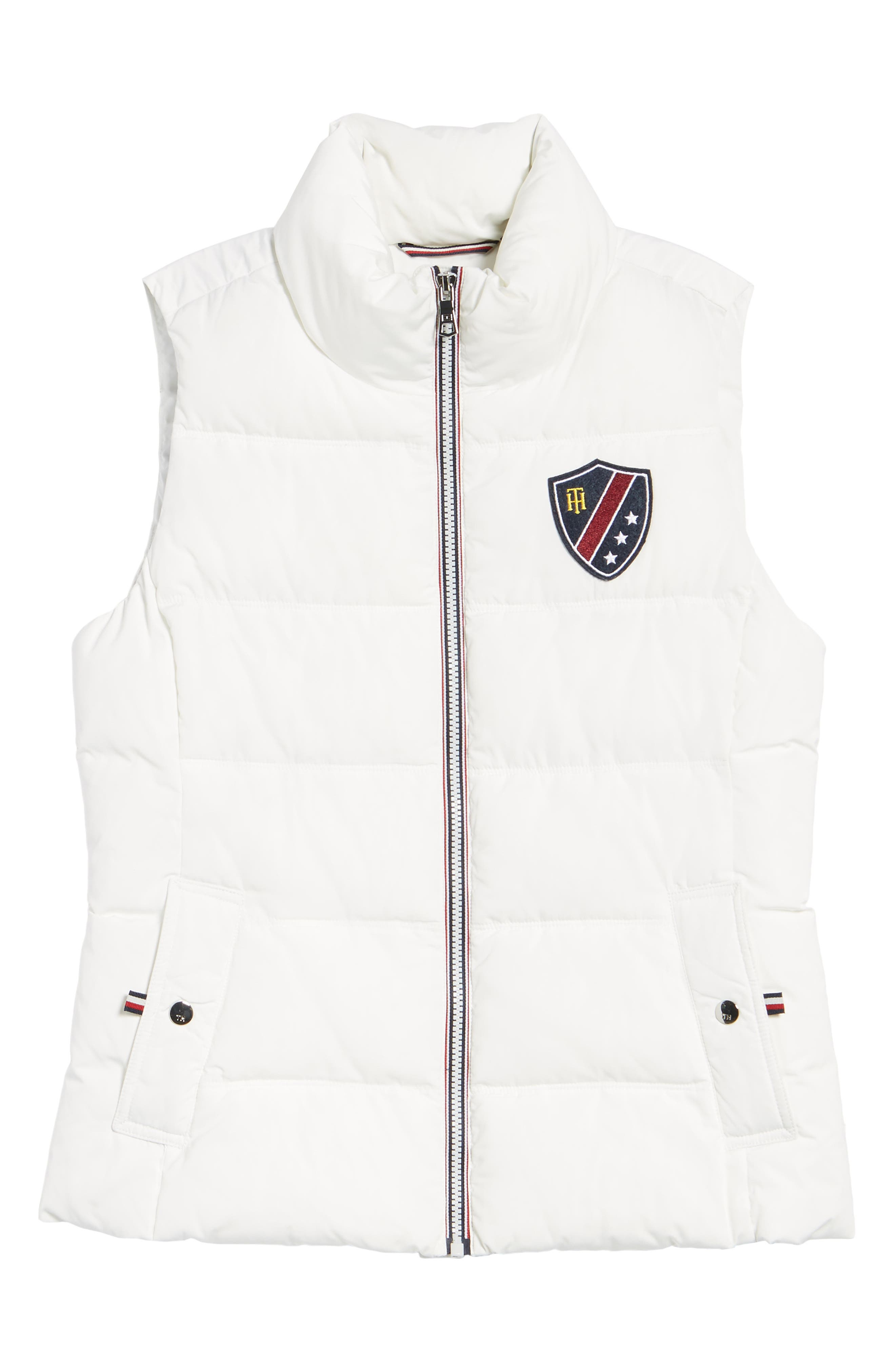 Quilted Puffer Vest,                             Alternate thumbnail 6, color,                             100