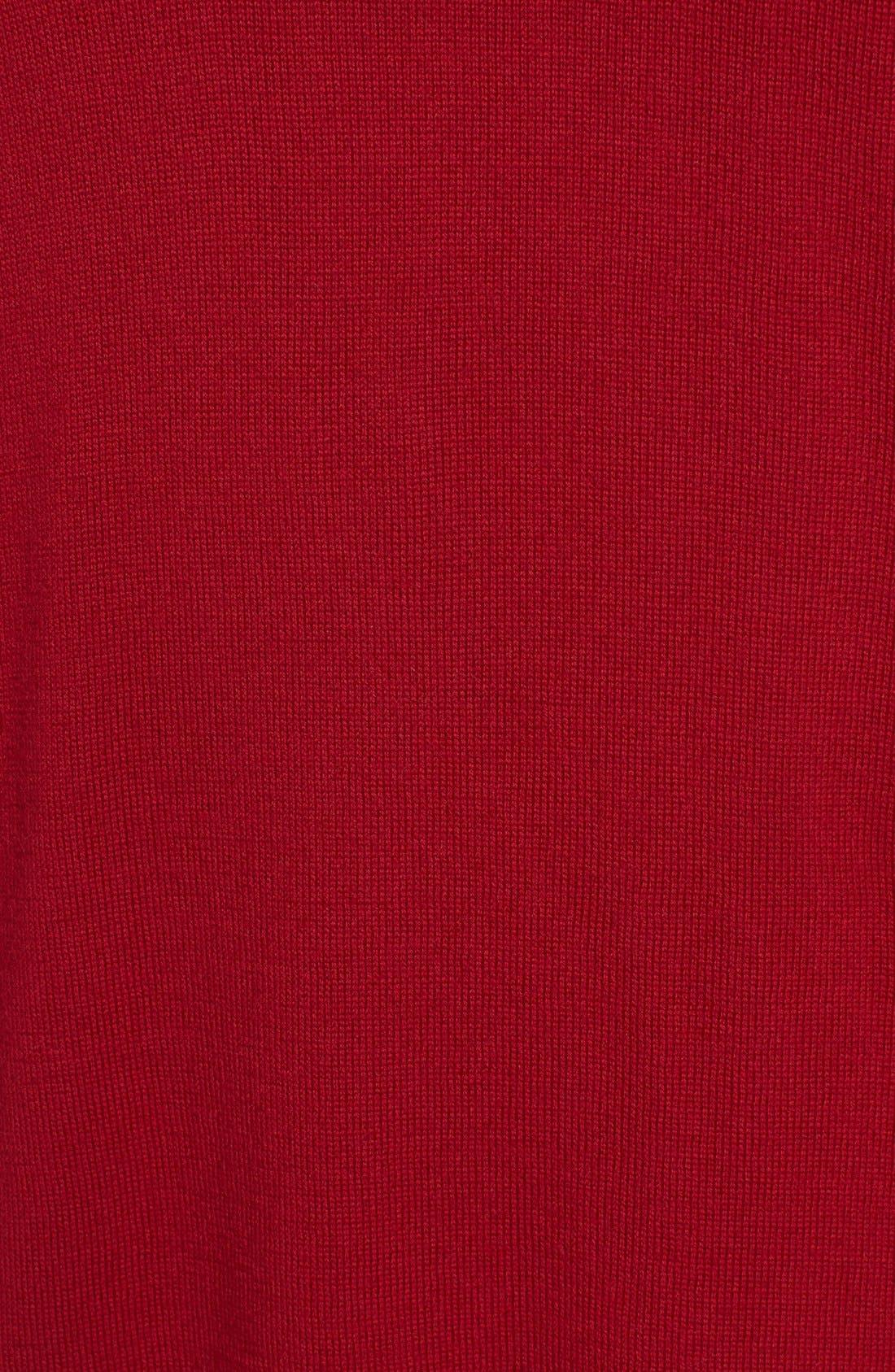 Lightweight Merino Jersey V-Neck Tunic,                             Alternate thumbnail 68, color,