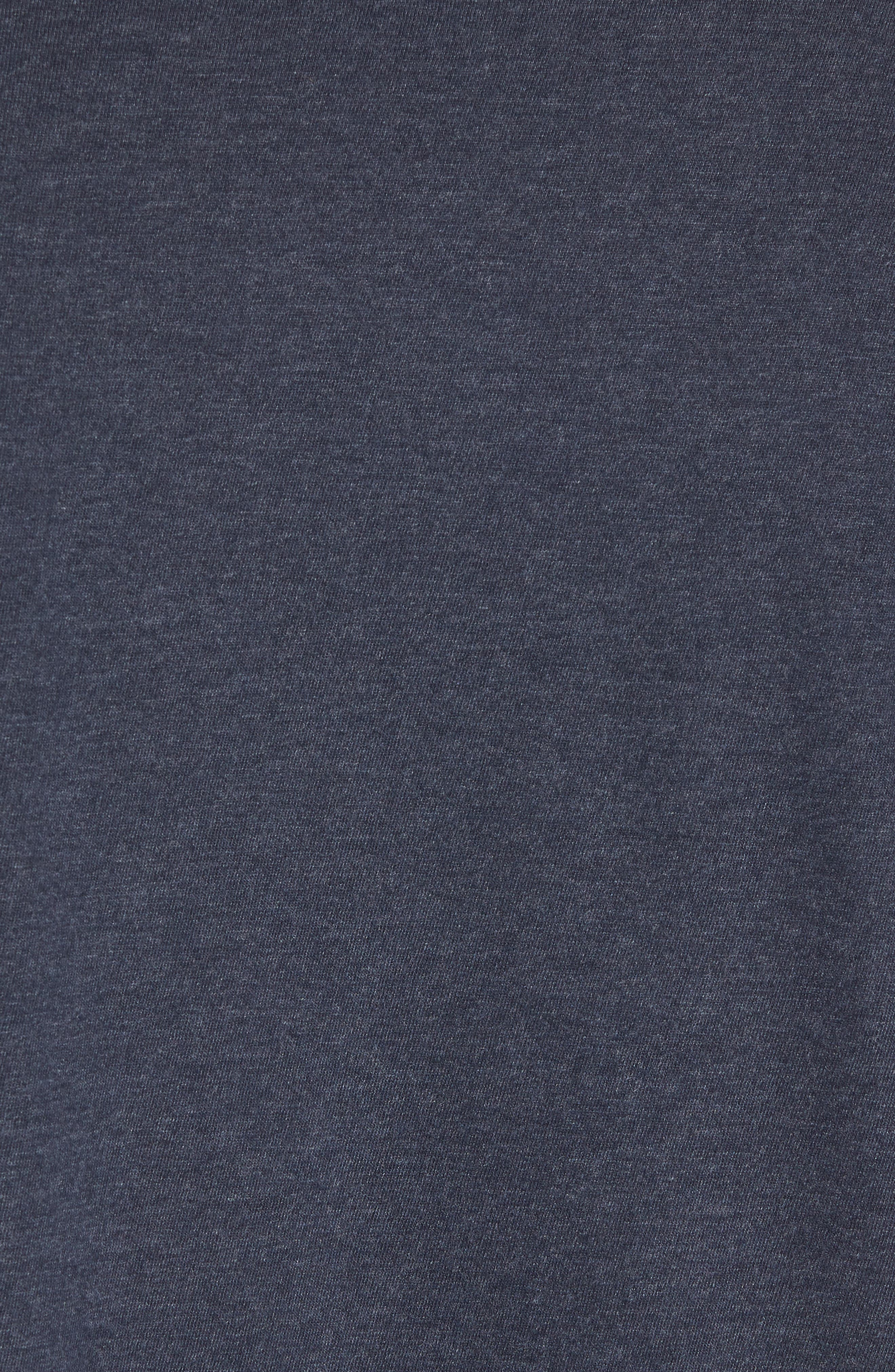 Halifax Crewneck T-Shirt,                             Alternate thumbnail 5, color,                             NAVY