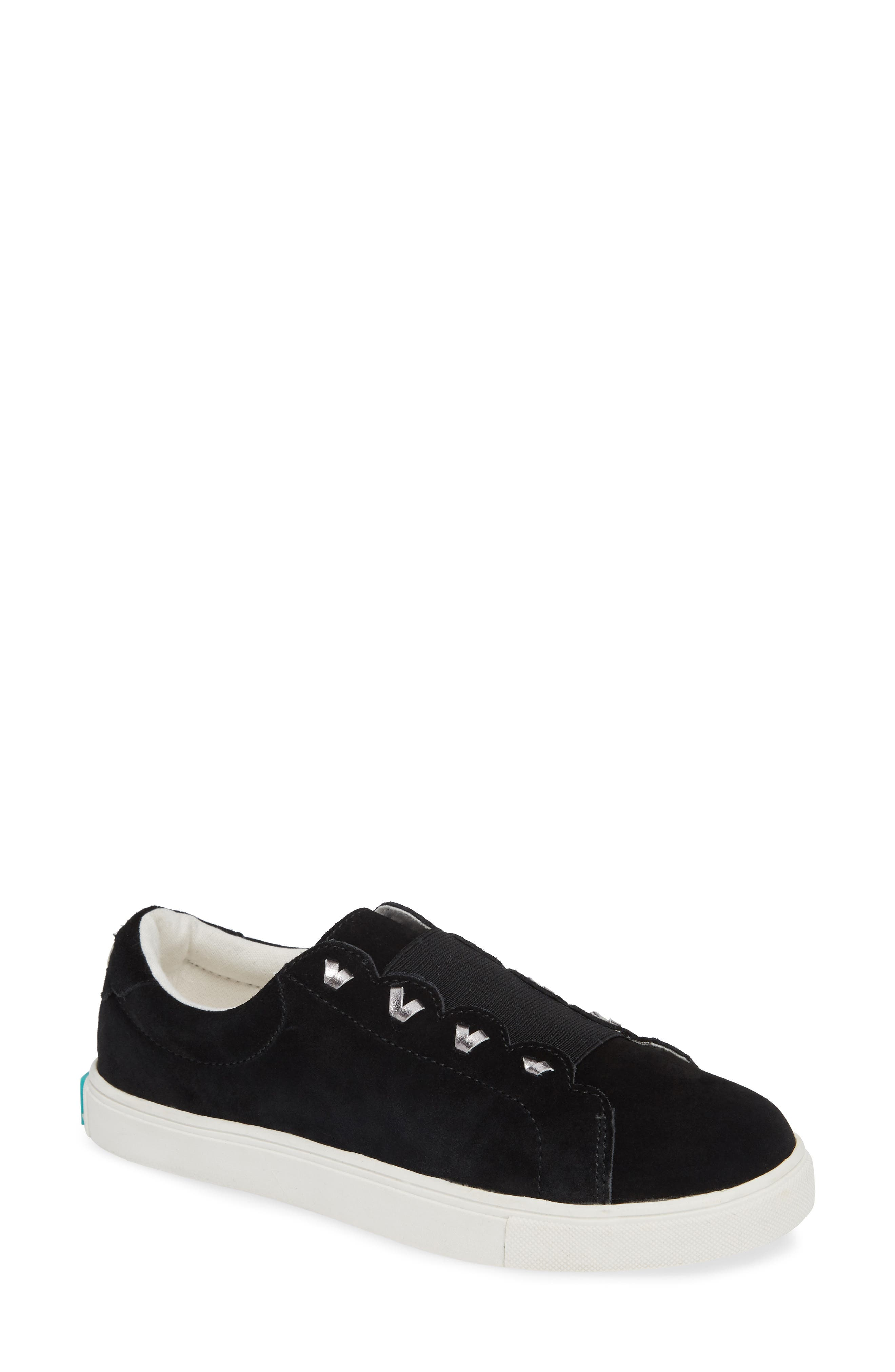Rye Sneaker,                             Main thumbnail 1, color,                             BLACK SUEDE