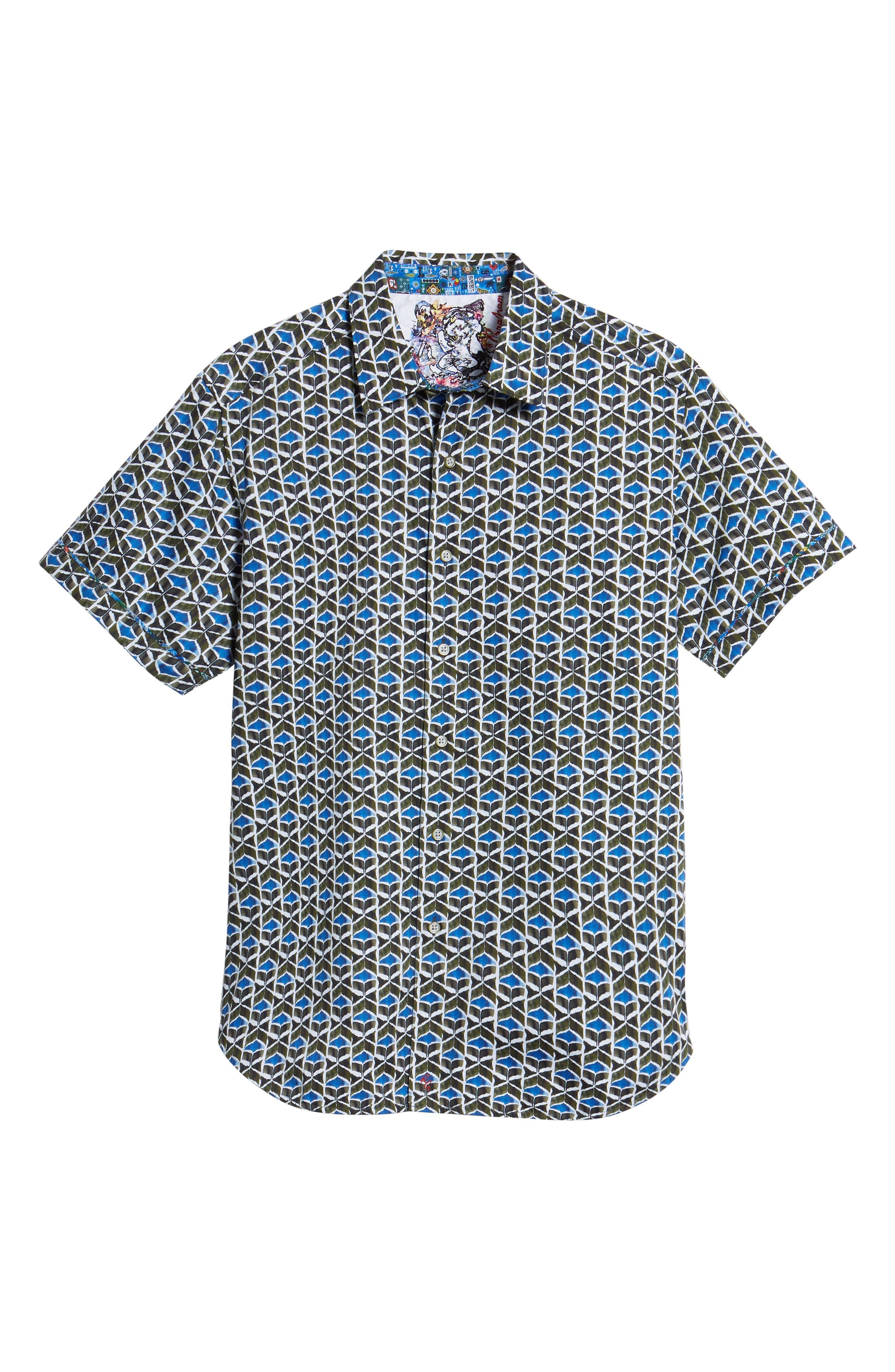 Tames Classic Fit Sport Shirt,                             Alternate thumbnail 6, color,                             300