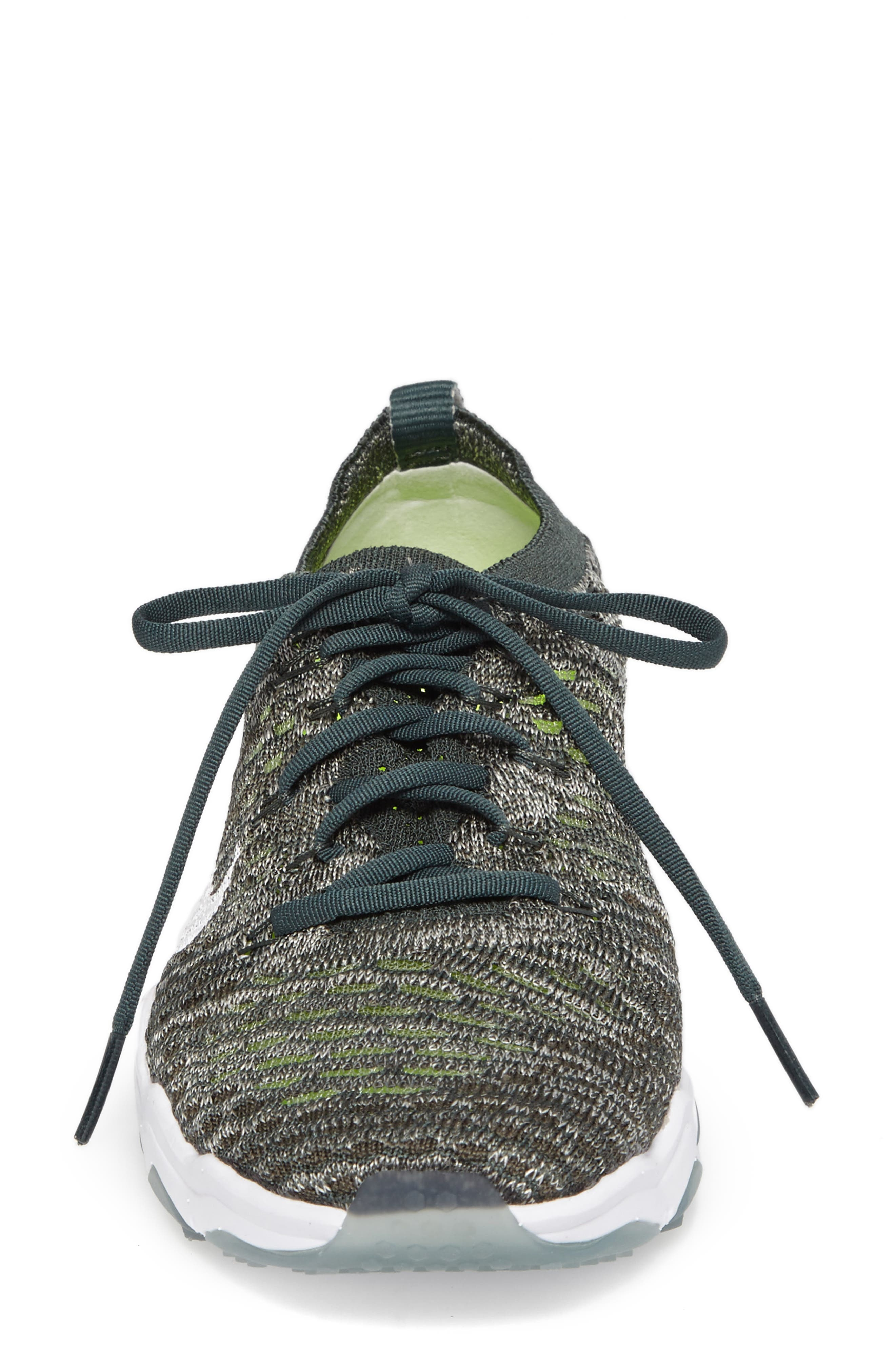 Air Zoom Fearless Flyknit Training Shoe,                             Alternate thumbnail 36, color,