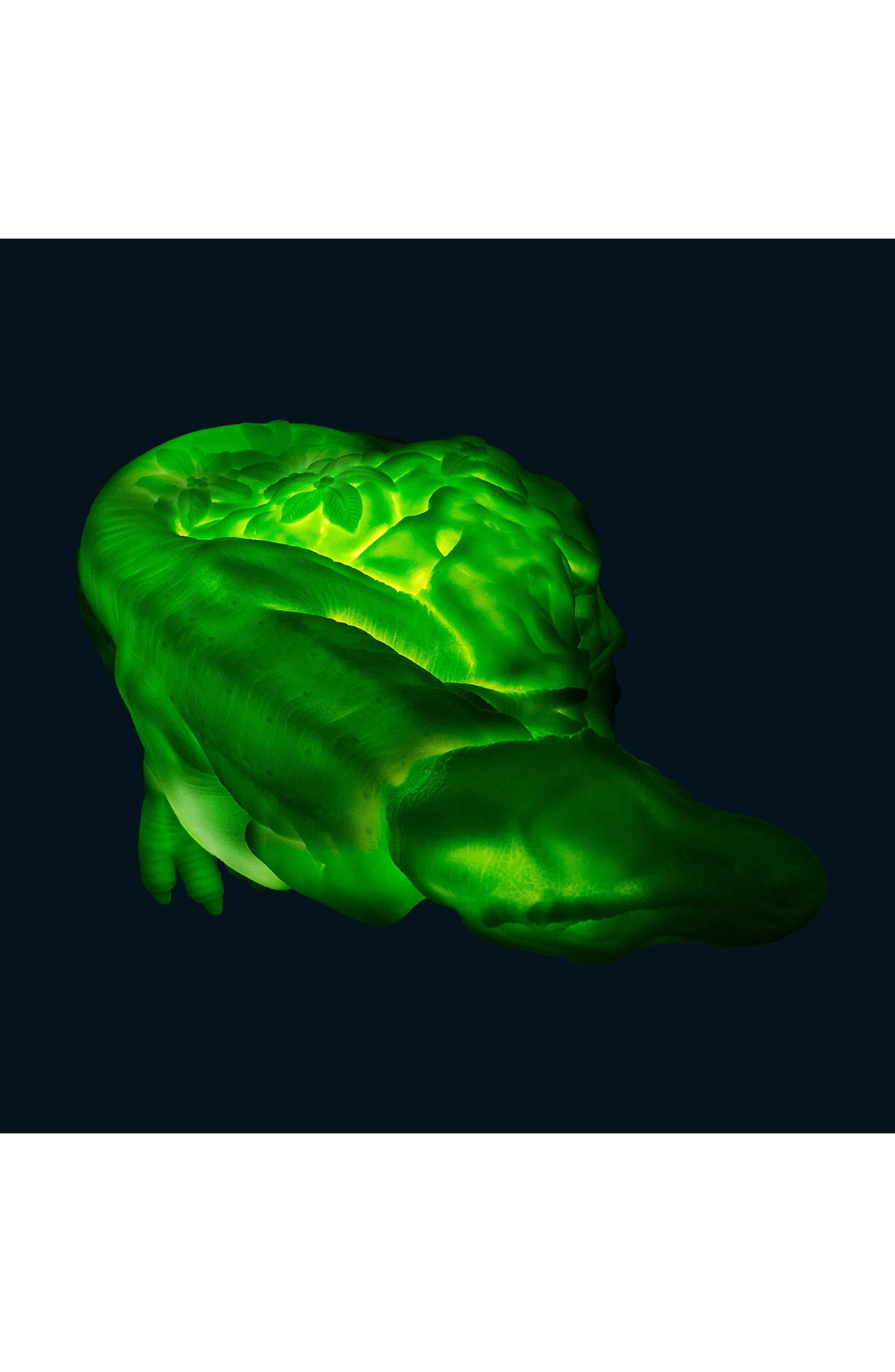 Dino LED Lamp,                             Alternate thumbnail 4, color,                             GREEN